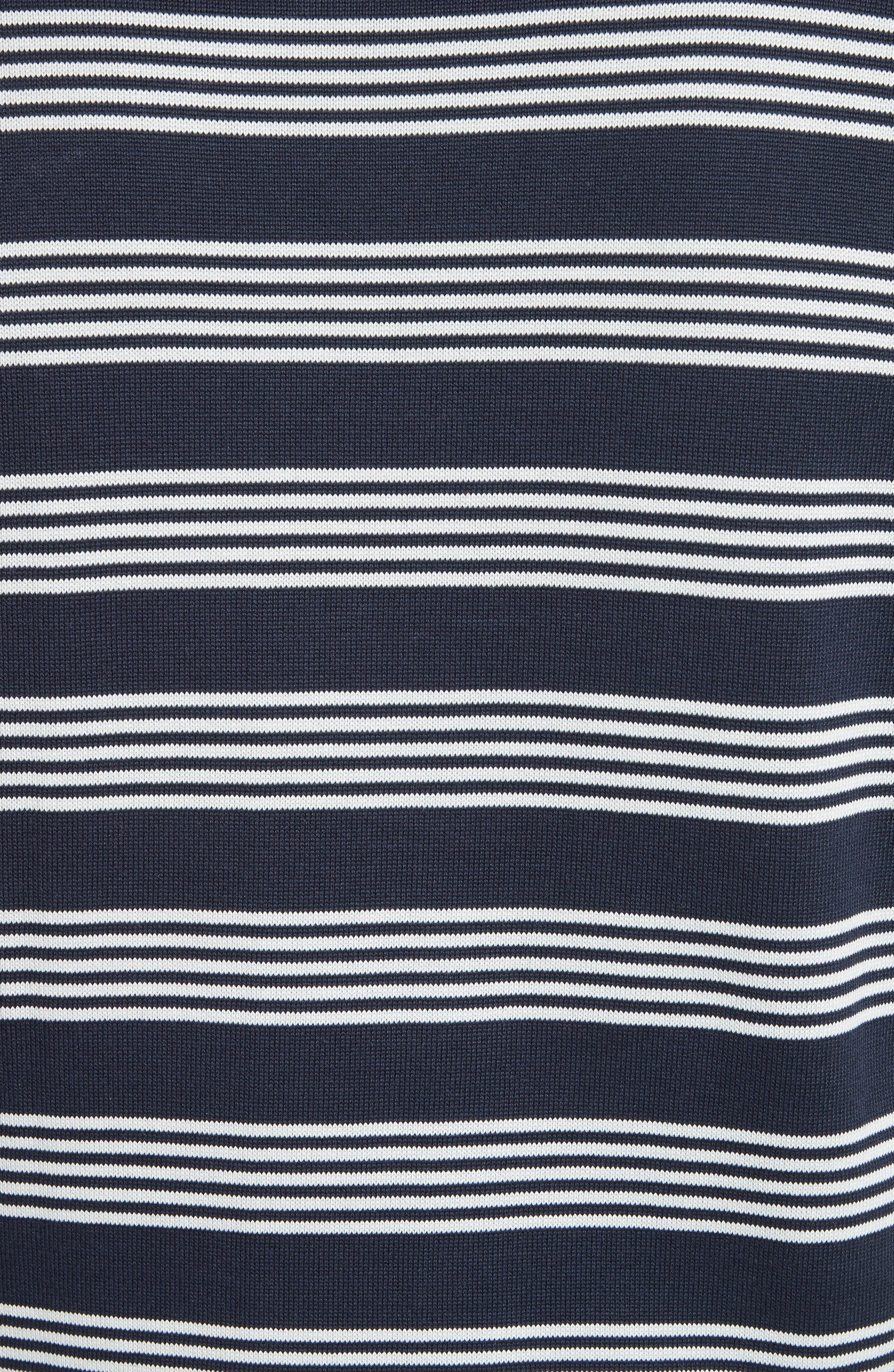 Stripe Sweat Jeremie Sweater,                             Alternate thumbnail 5, color,                             410