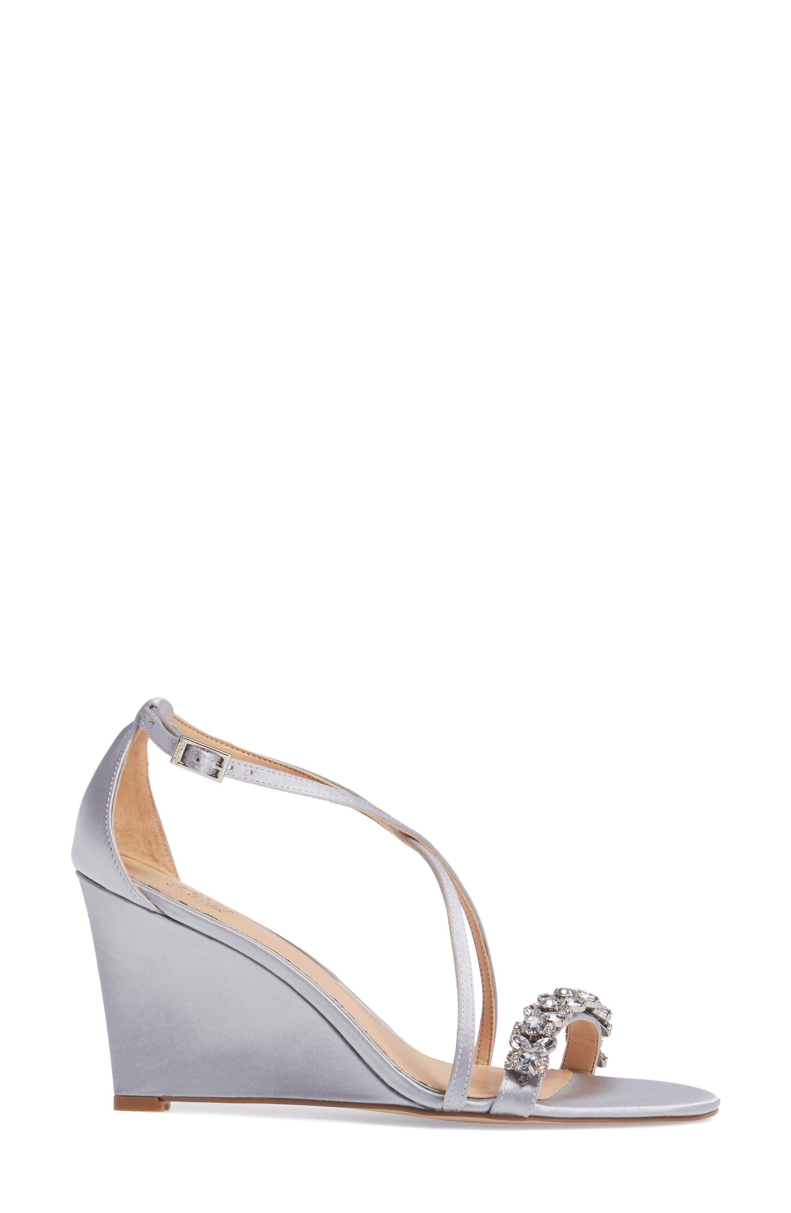 Embellished Strappy Wedge Sandal,                             Alternate thumbnail 8, color,