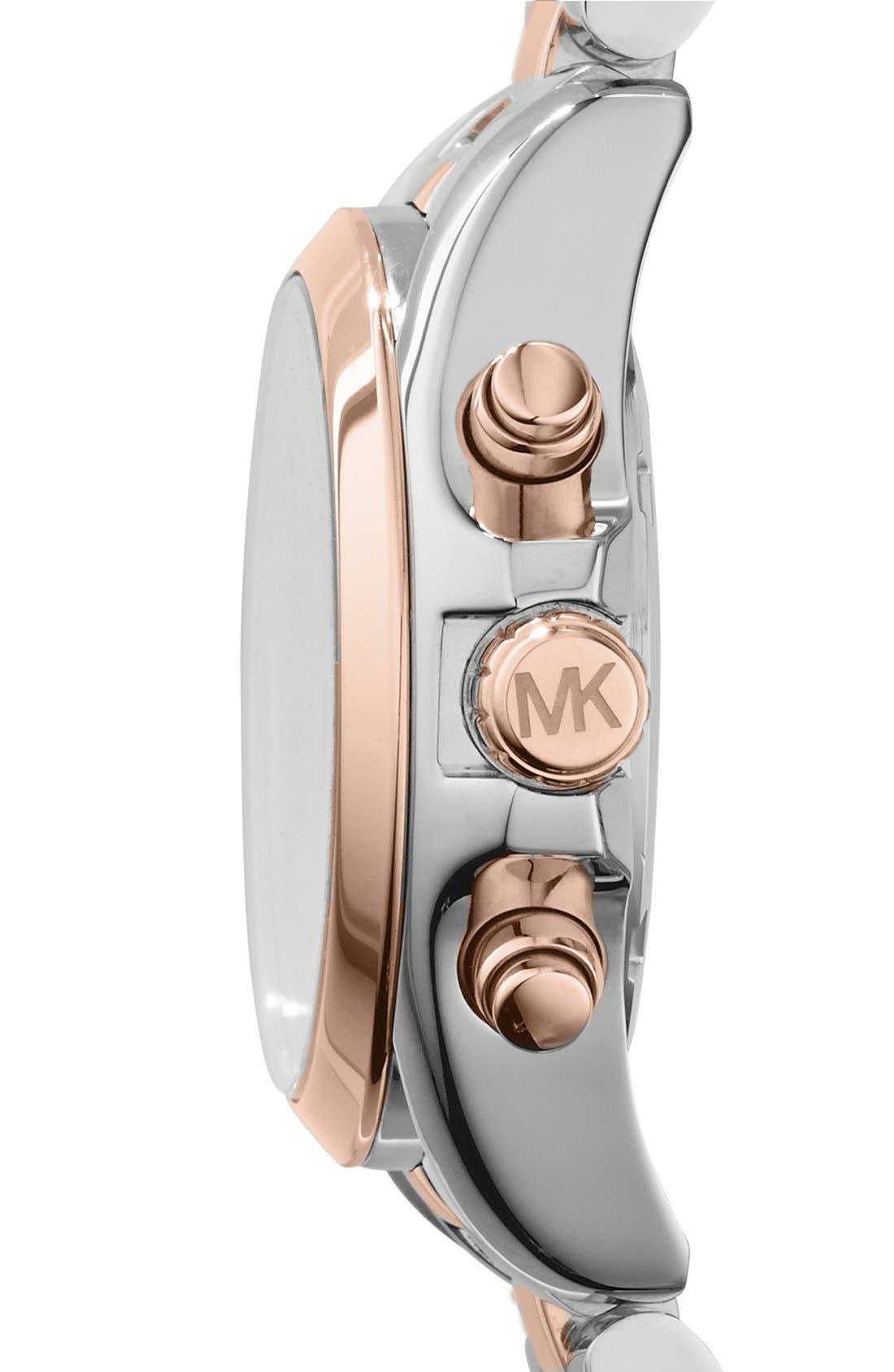 'Bradshaw - Mini' Chronograph Bracelet Watch, 36mm,                             Alternate thumbnail 13, color,