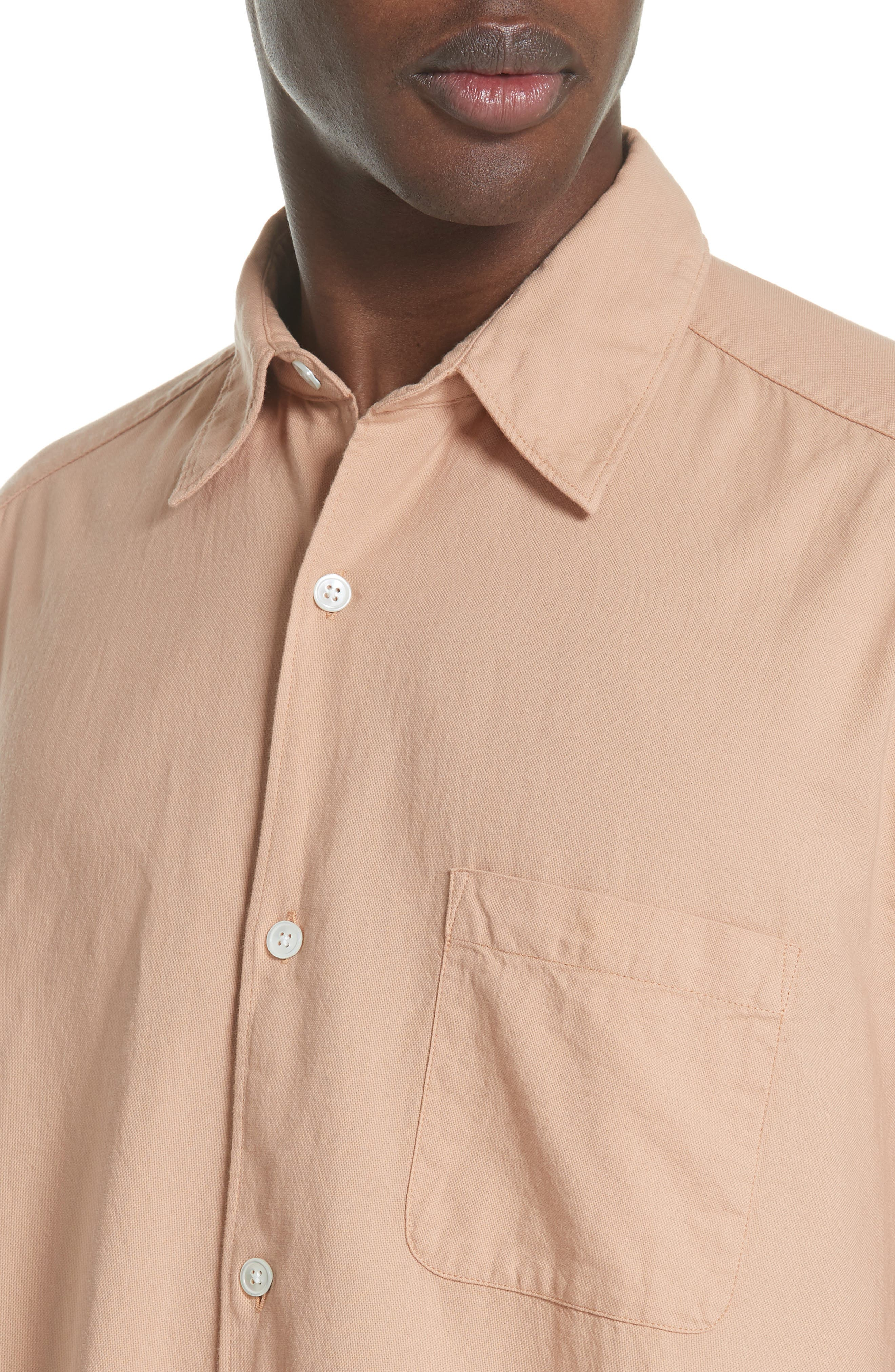 Oversize Basketweave Shirt,                             Alternate thumbnail 4, color,                             680