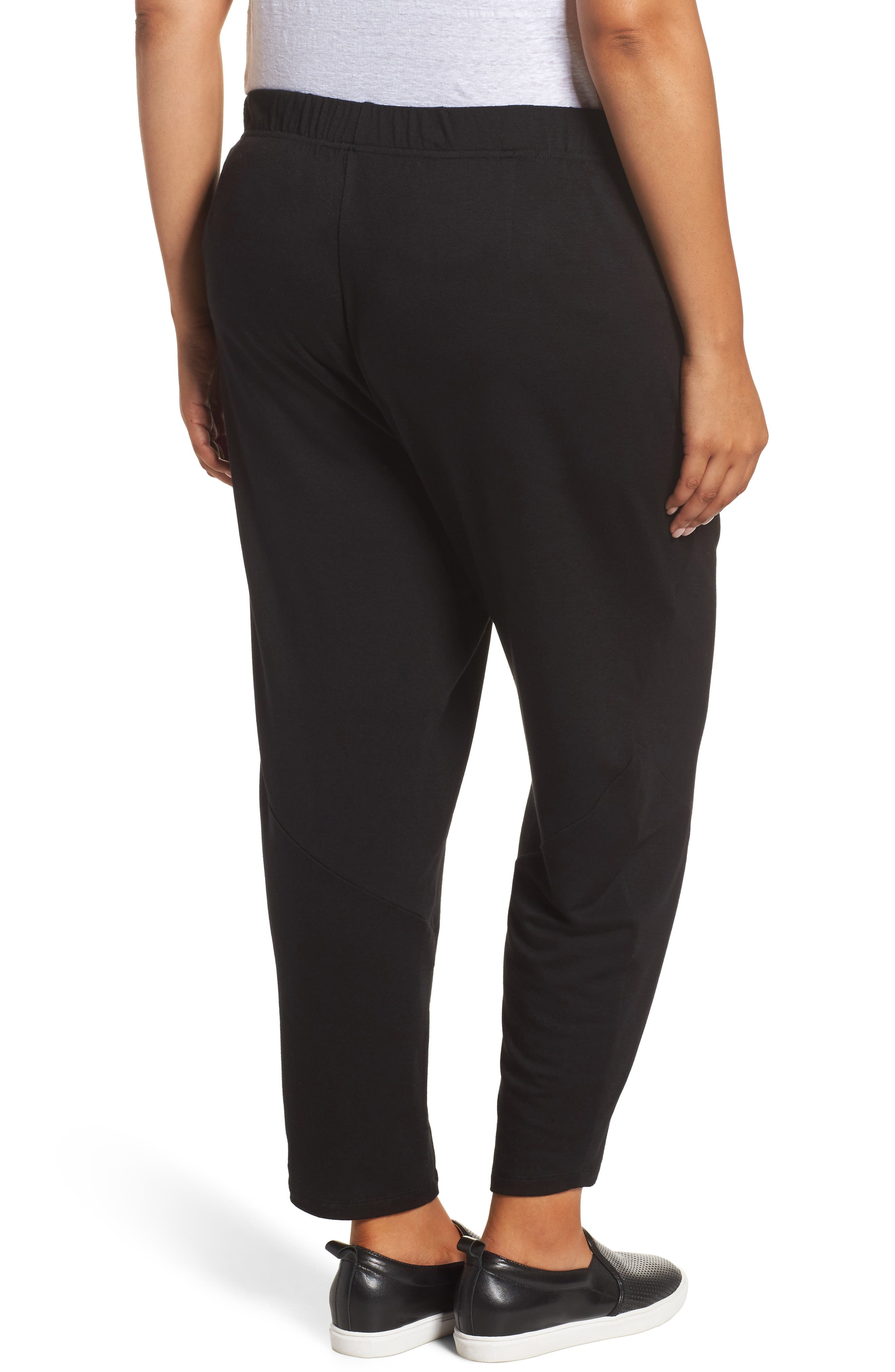 Slouchy Stretch Pants,                             Alternate thumbnail 2, color,                             001