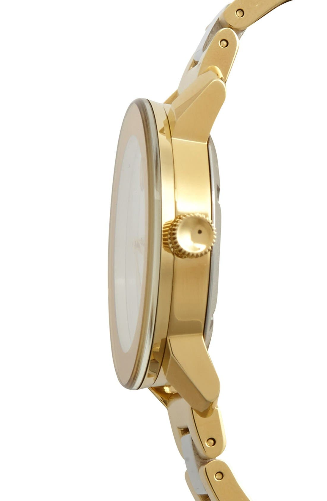 'Bold' Round Bracelet Watch, 36mm,                             Alternate thumbnail 3, color,                             710