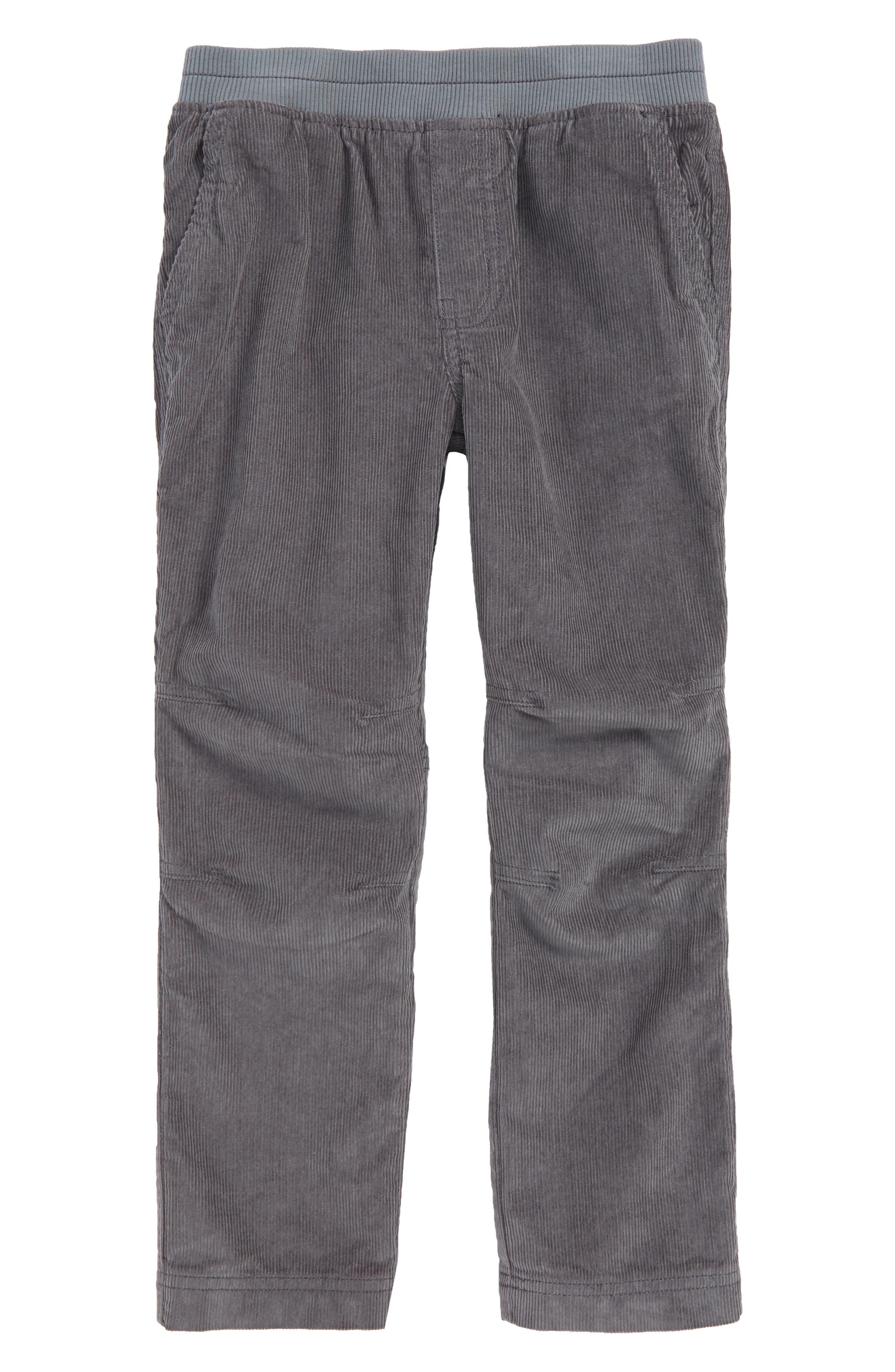 Easy Corduroy Pants,                             Main thumbnail 1, color,                             SHARKFIN
