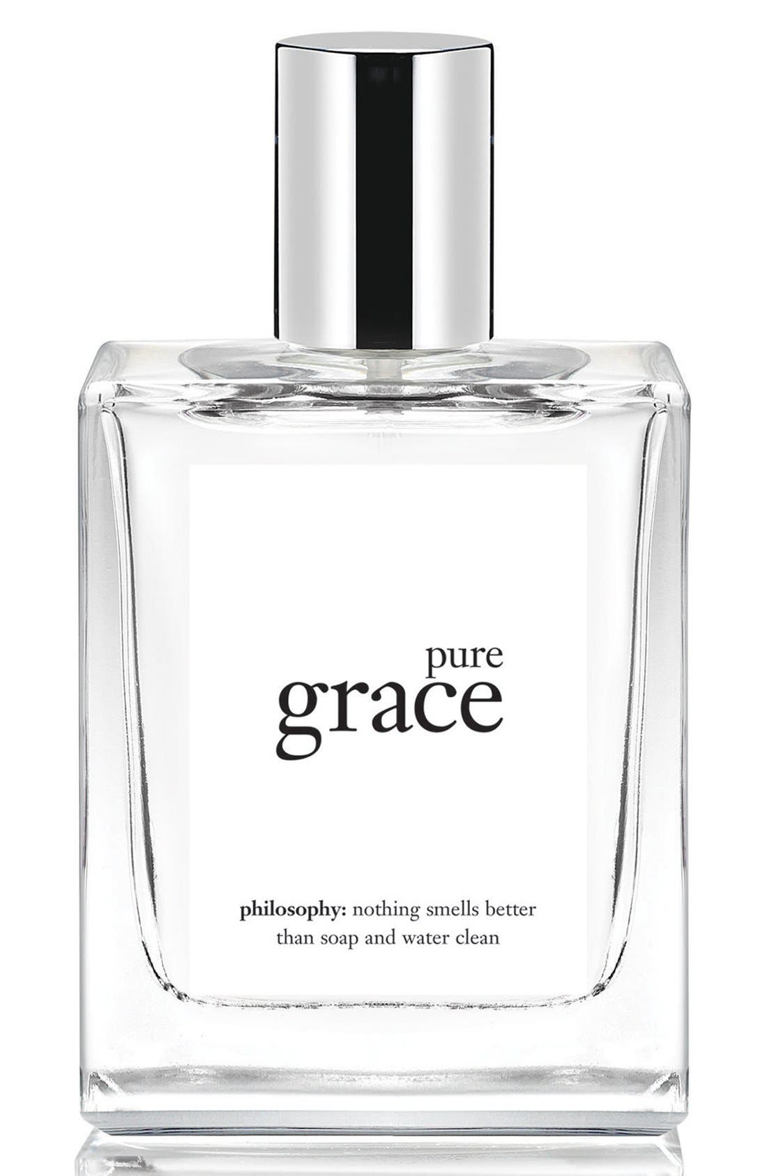 'pure grace' spray fragrance,                             Main thumbnail 1, color,                             NO COLOR