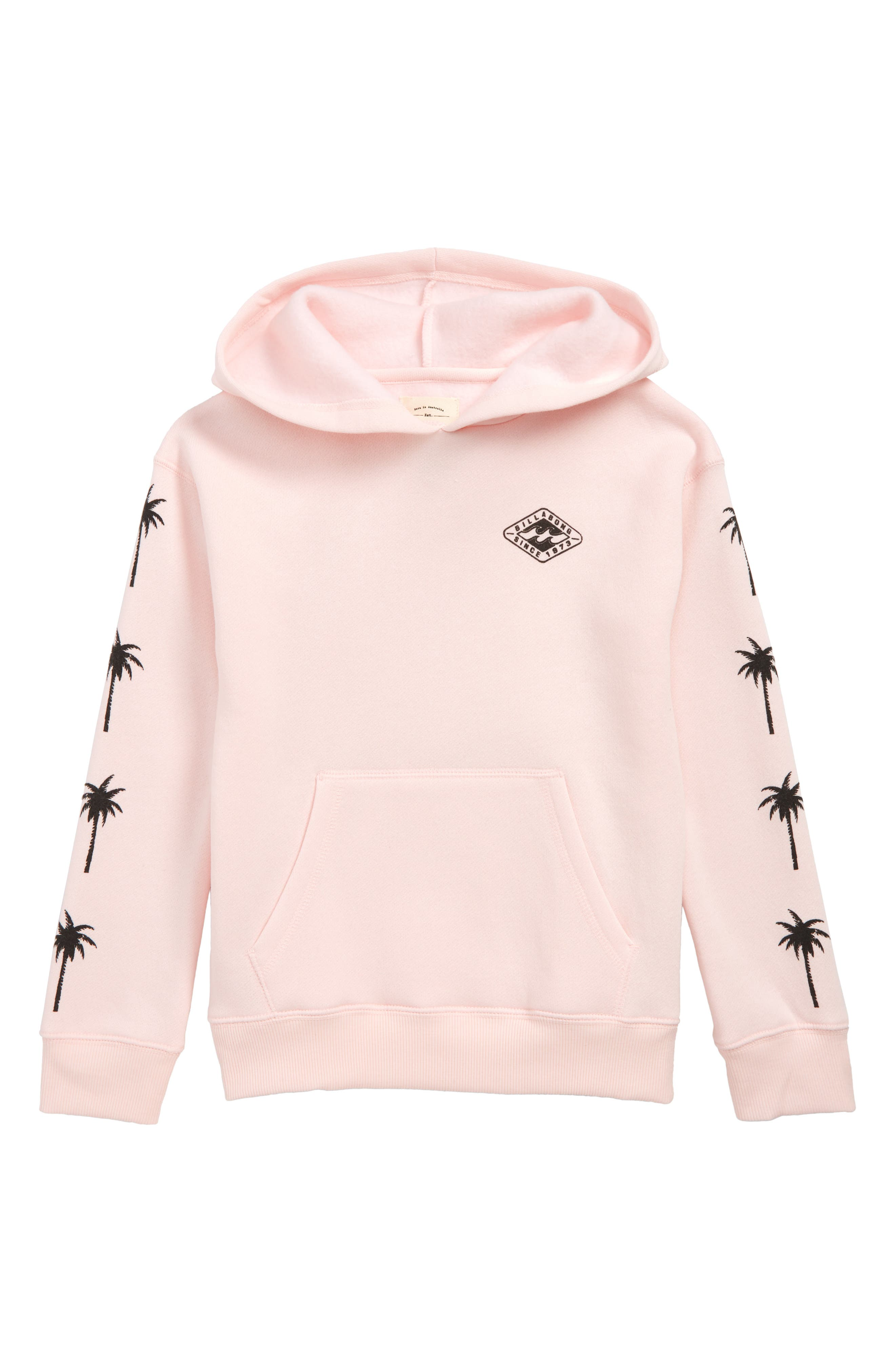 Stay Wild Pullover Hoodie, Main, color, PINK LILY