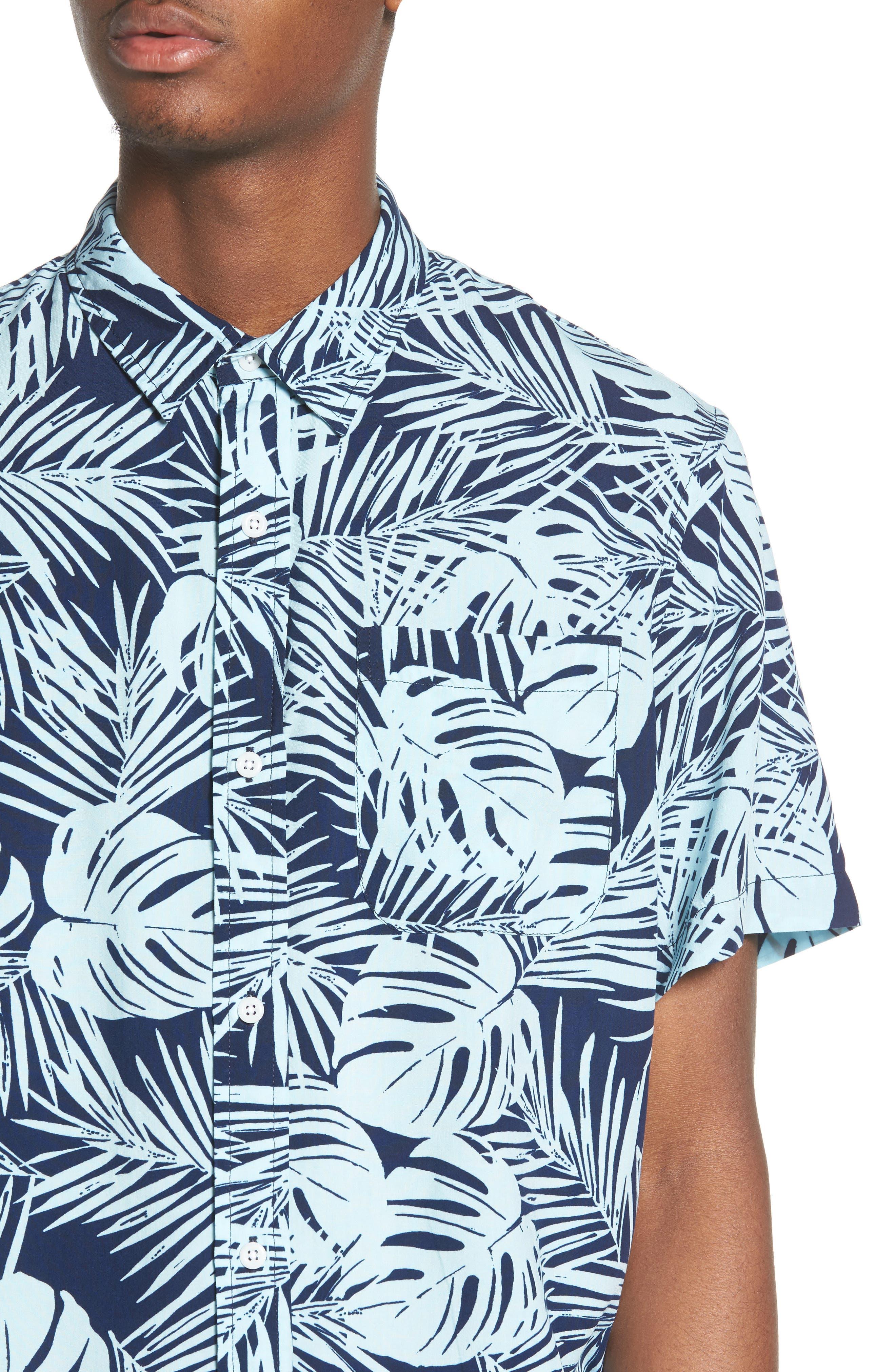 Print Woven Shirt,                             Alternate thumbnail 12, color,
