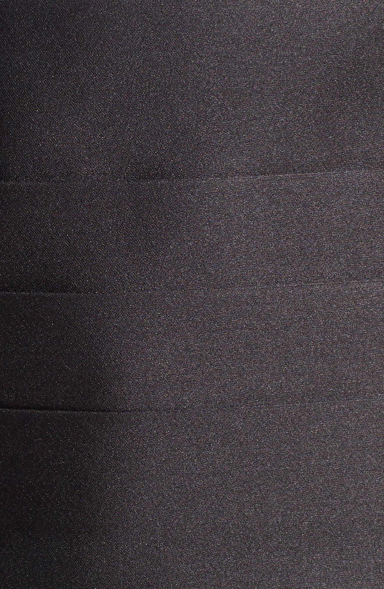 Silk Cummerbund & Bow Tie,                             Main thumbnail 1, color,                             BLACK SATIN