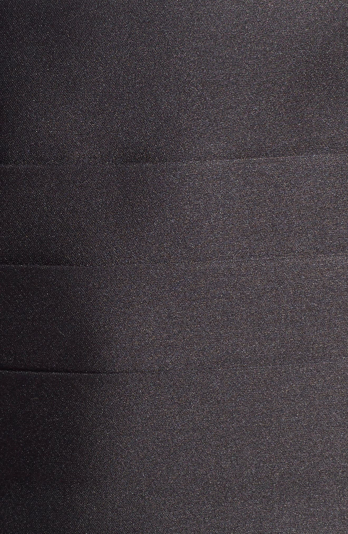 Silk Cummerbund & Bow Tie,                         Main,                         color, BLACK SATIN