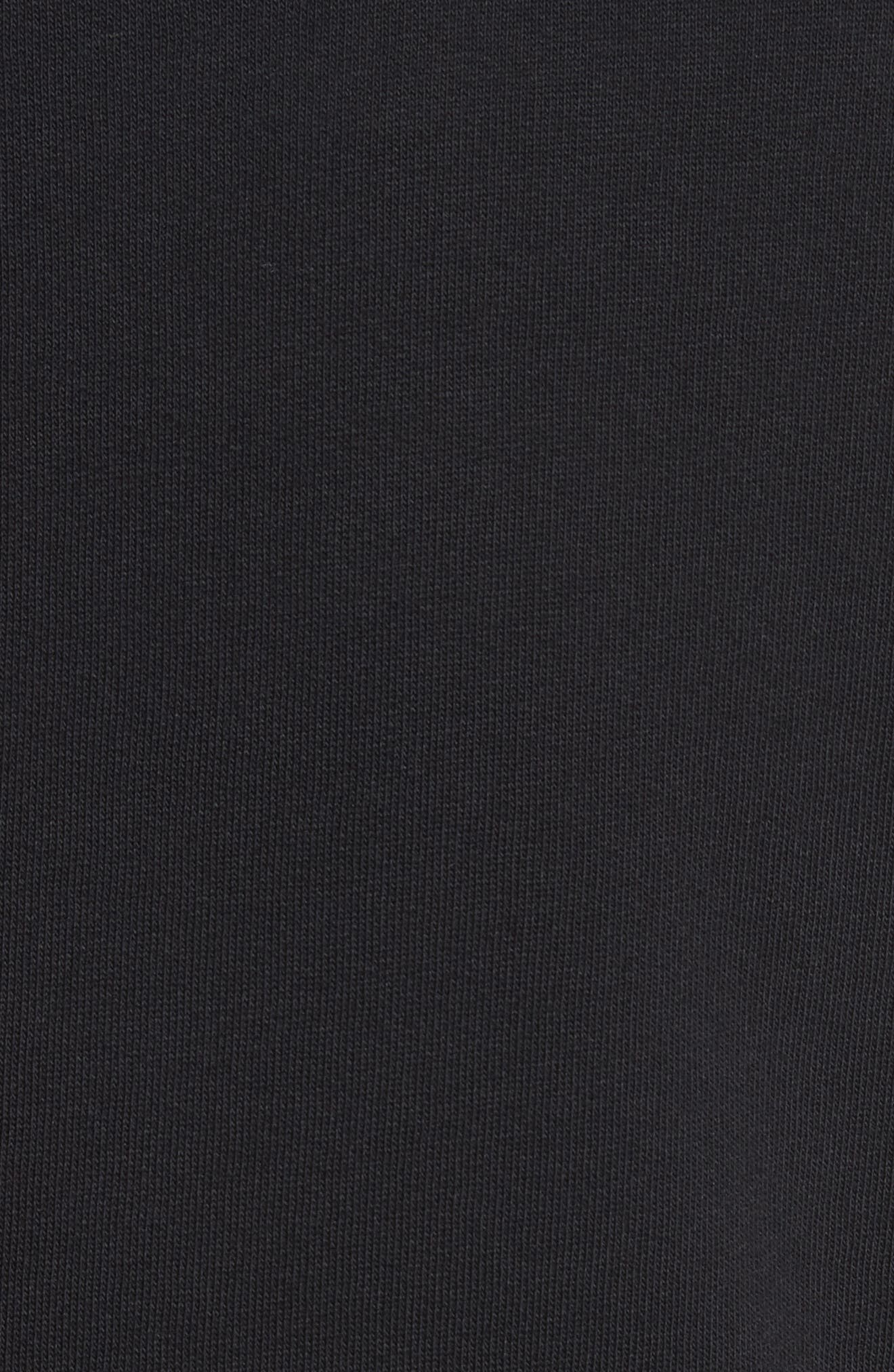 Stripe Trim Jersey Sport Coat,                             Alternate thumbnail 6, color,                             001