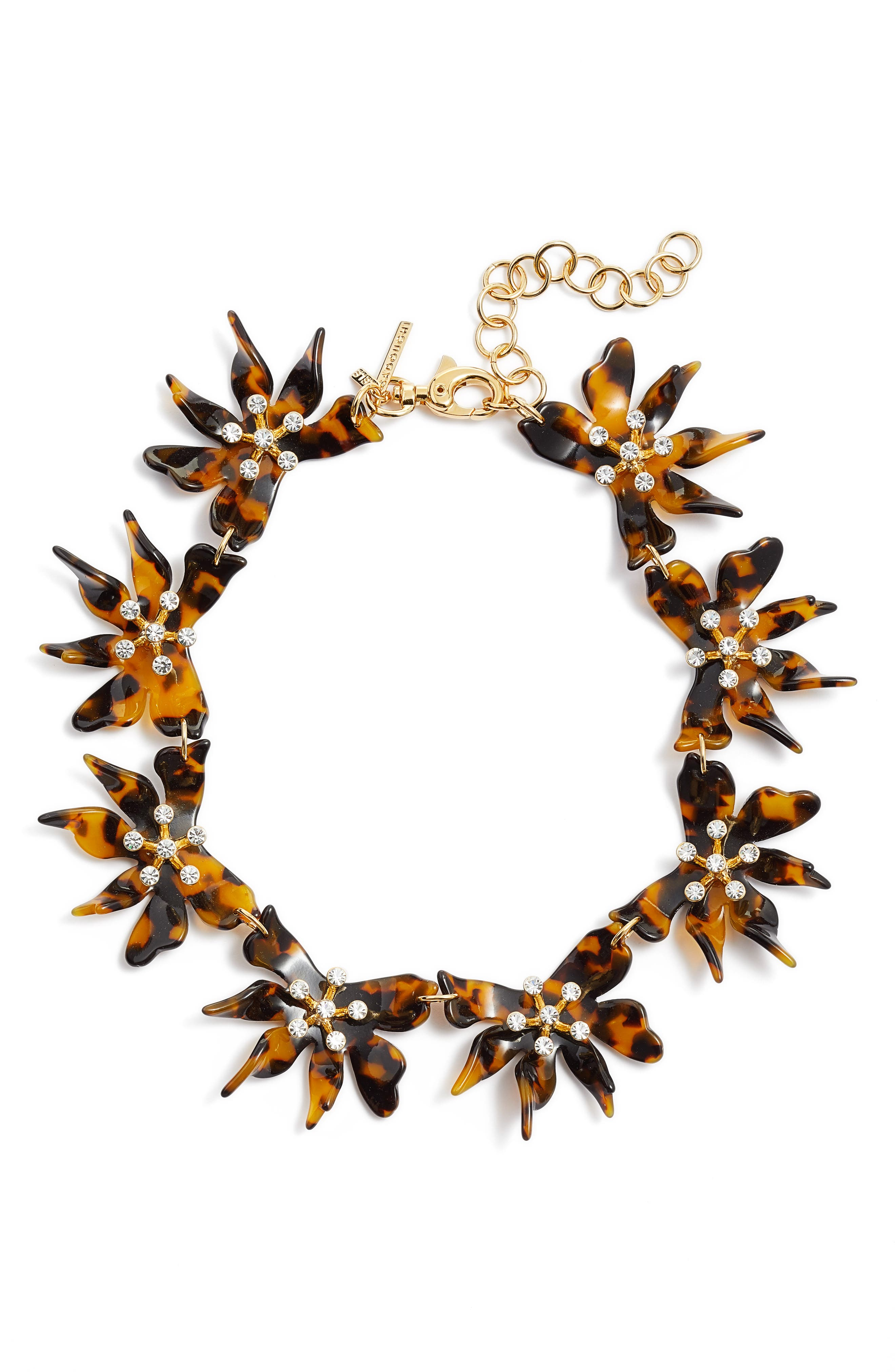 Daffodil Collar Necklace,                         Main,                         color, 200
