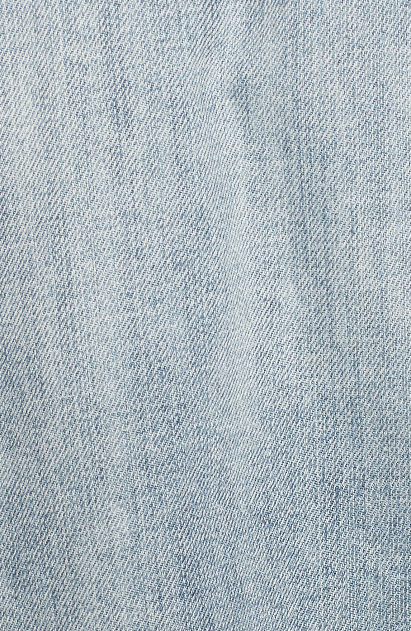 Knox Studded Denim Jacket,                             Alternate thumbnail 6, color,