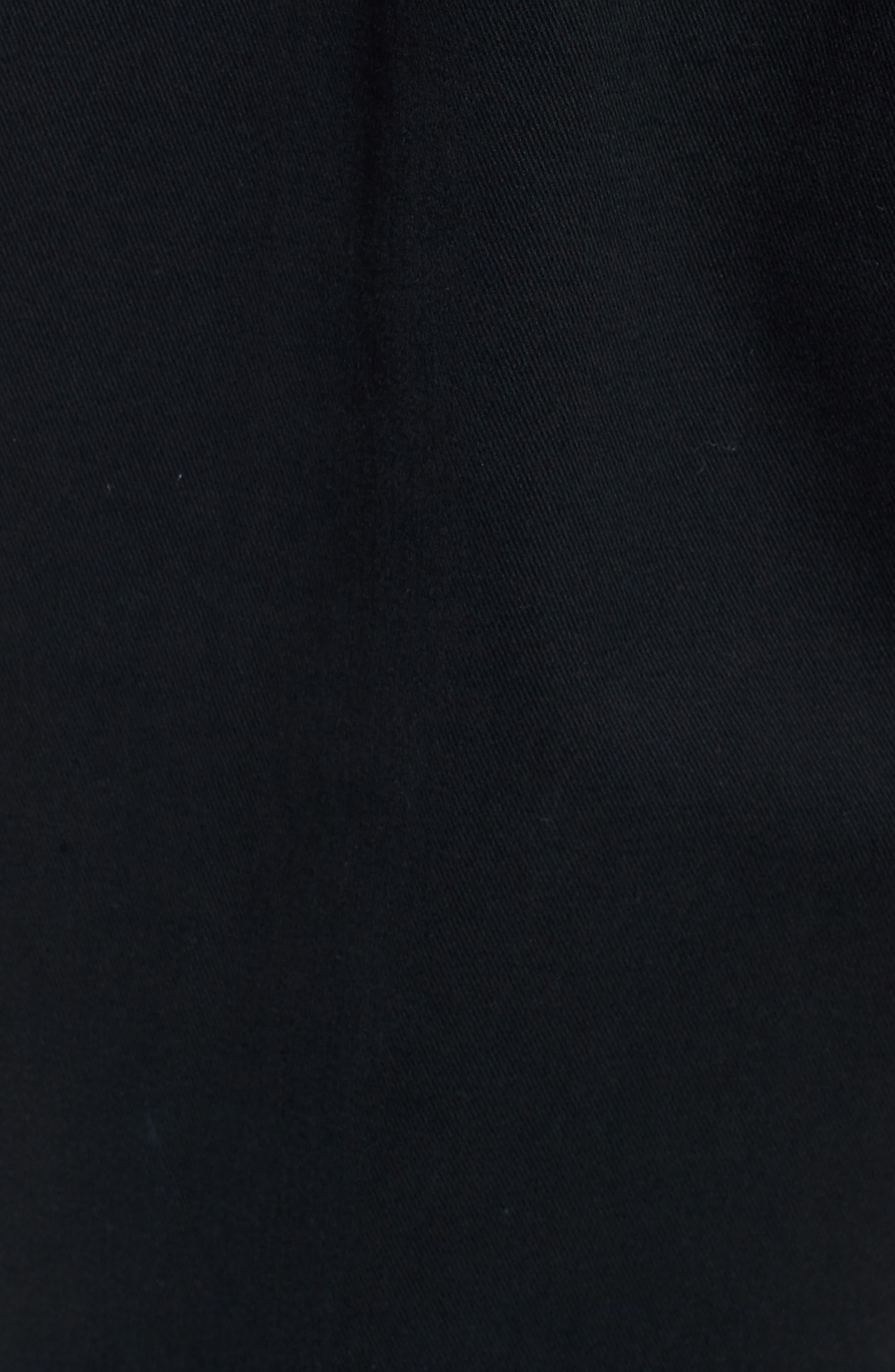 Fubar Pleated Relaxed Fit Pants,                             Alternate thumbnail 5, color,                             BLACK