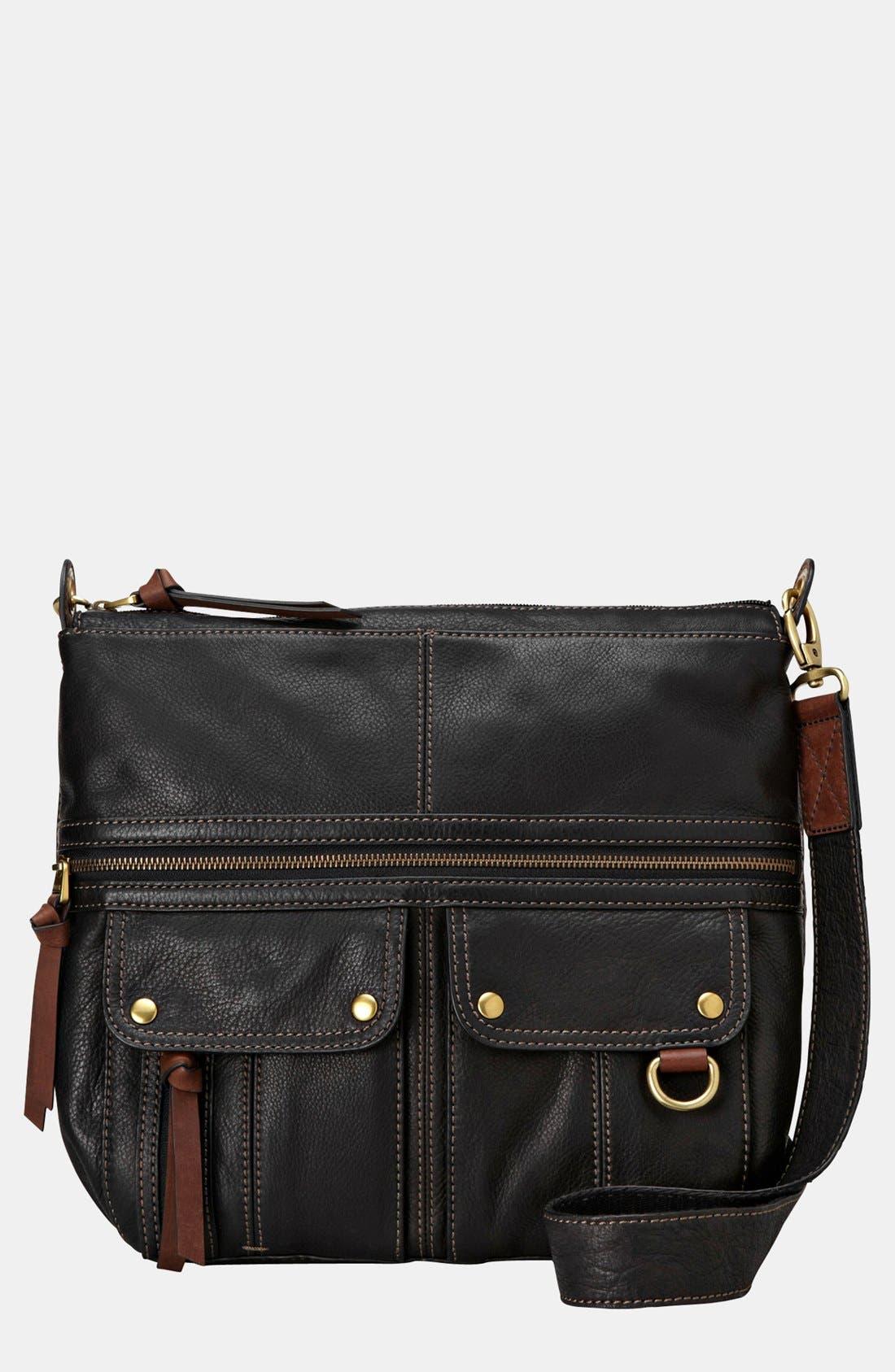 'Morgan' Shoulder Bag,                             Main thumbnail 1, color,                             001