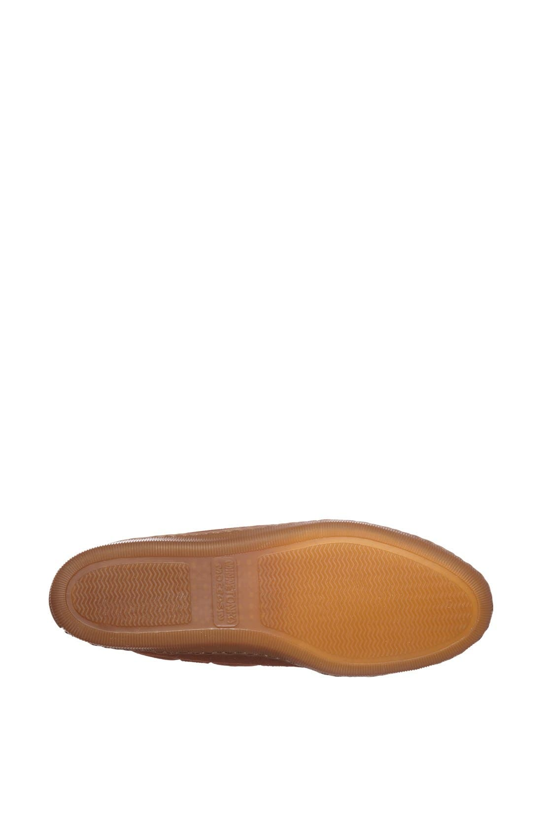 Moccasin Slipper,                             Alternate thumbnail 2, color,                             BROWN