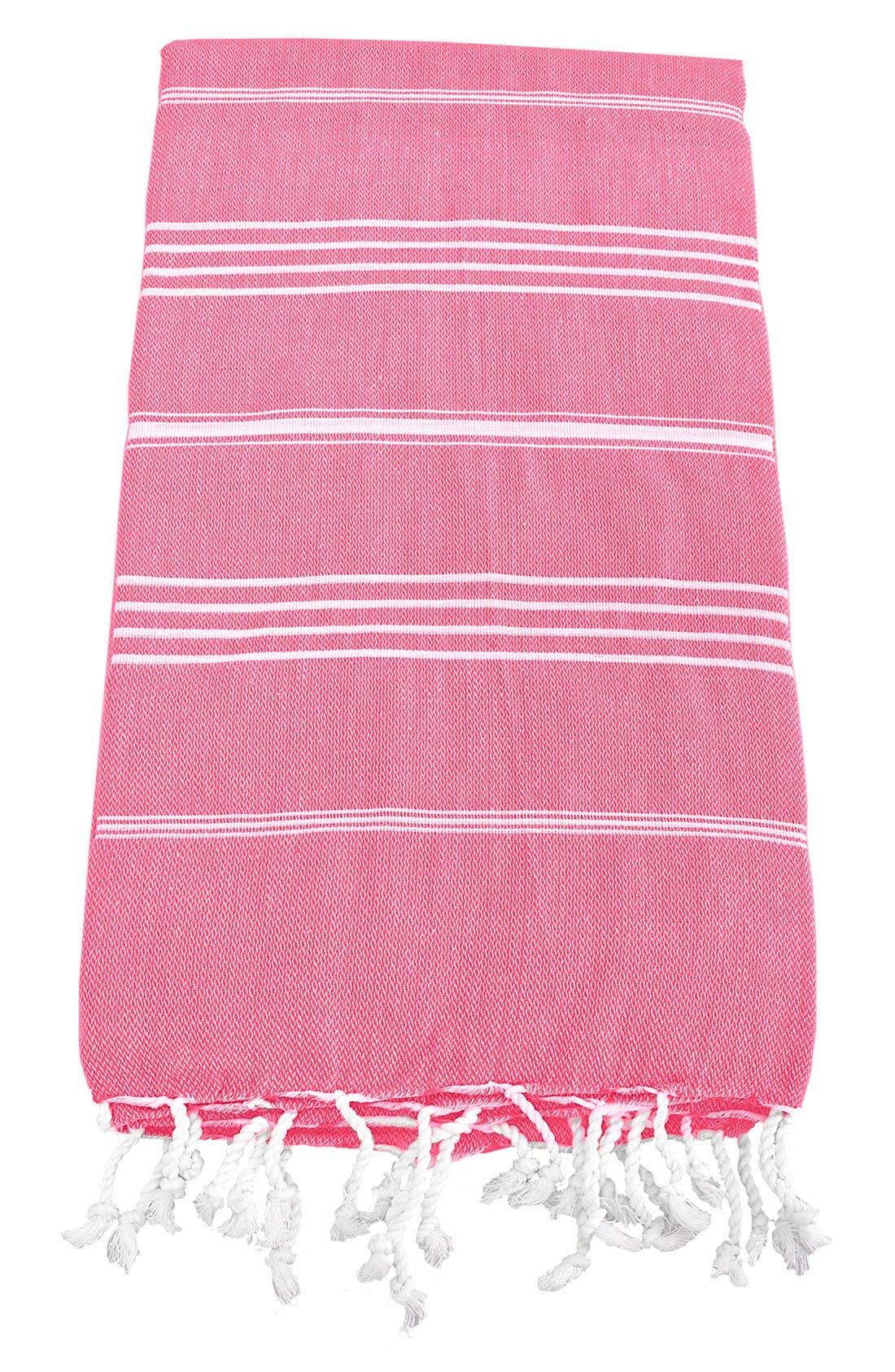 Monogram Turkish Cotton Towel,                             Main thumbnail 136, color,