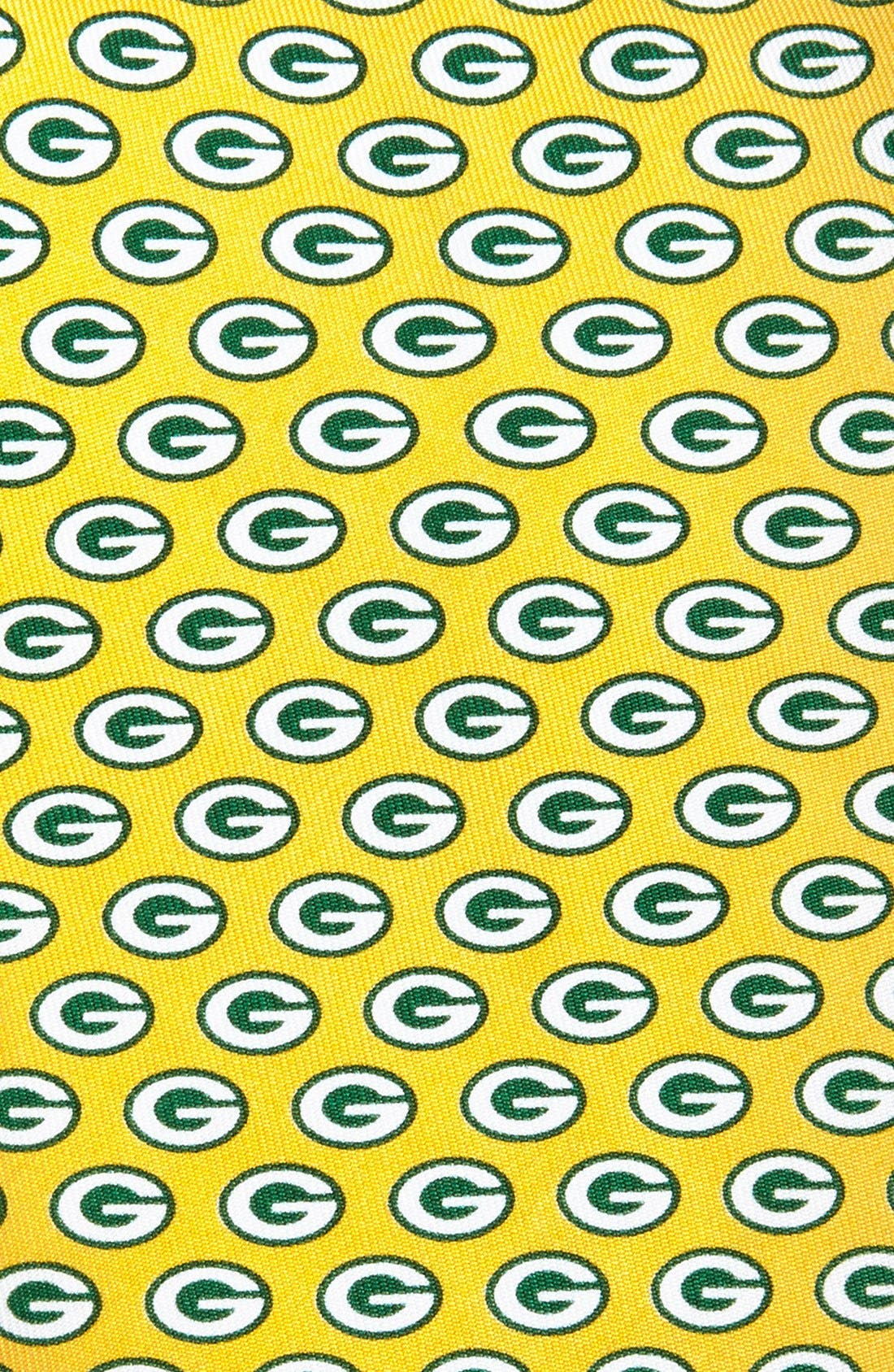 Green Bay Packers - NFL Woven Silk Tie,                             Alternate thumbnail 4, color,                             YELLOW
