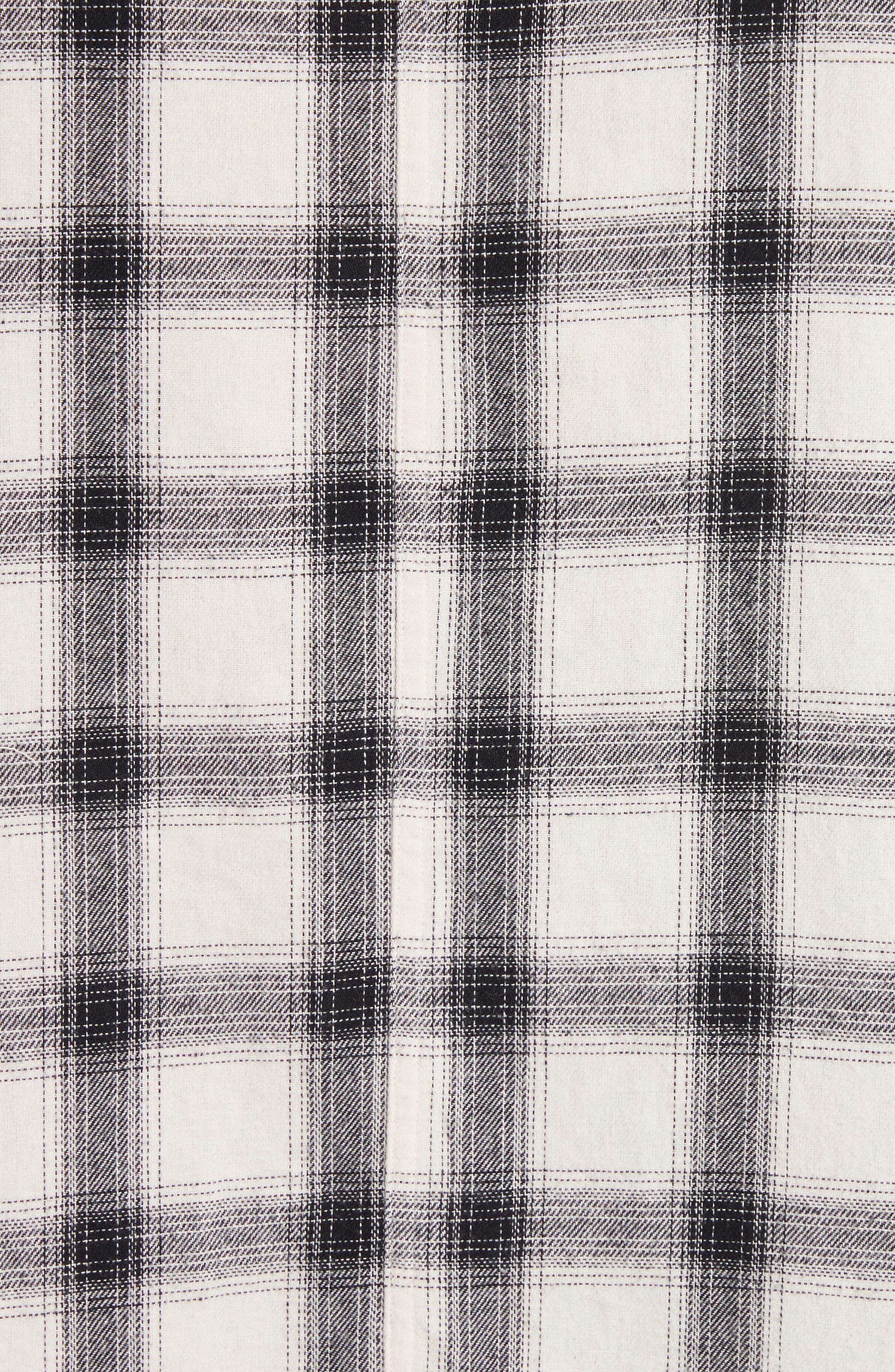 Oversize Plaid Military Shirt,                             Alternate thumbnail 2, color,                             199