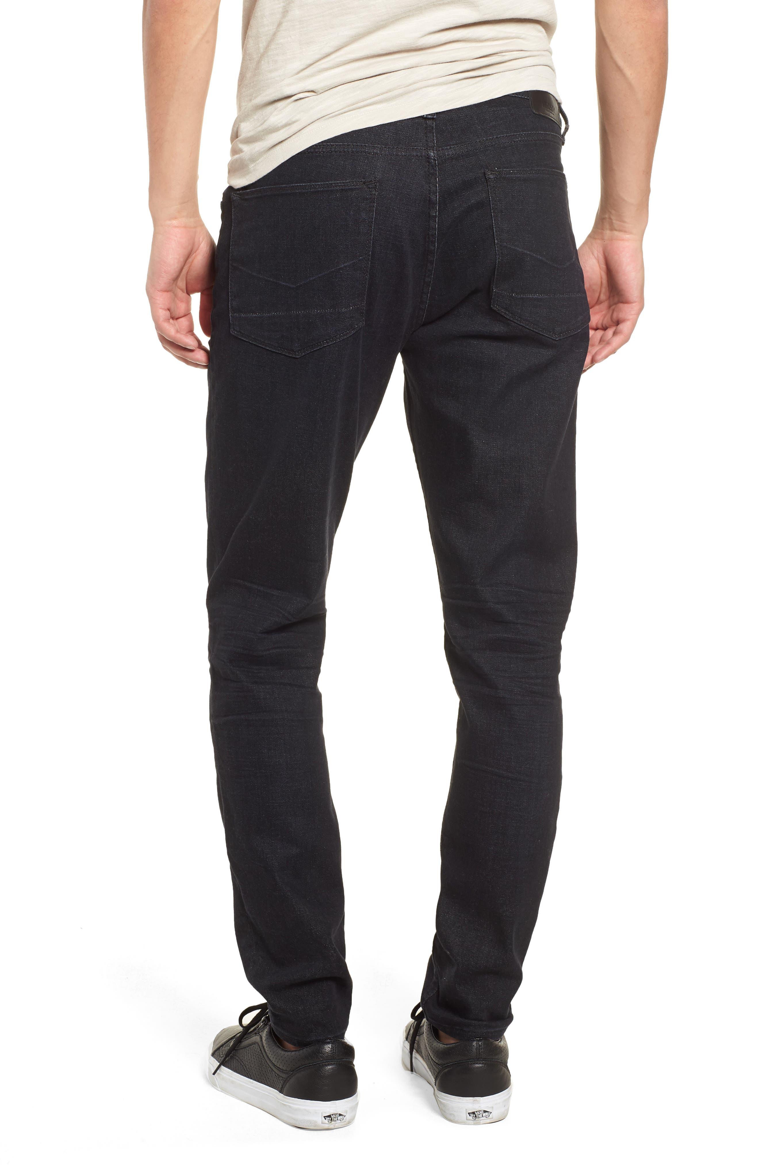 Zack Skinny Fit Jeans,                             Alternate thumbnail 2, color,                             001