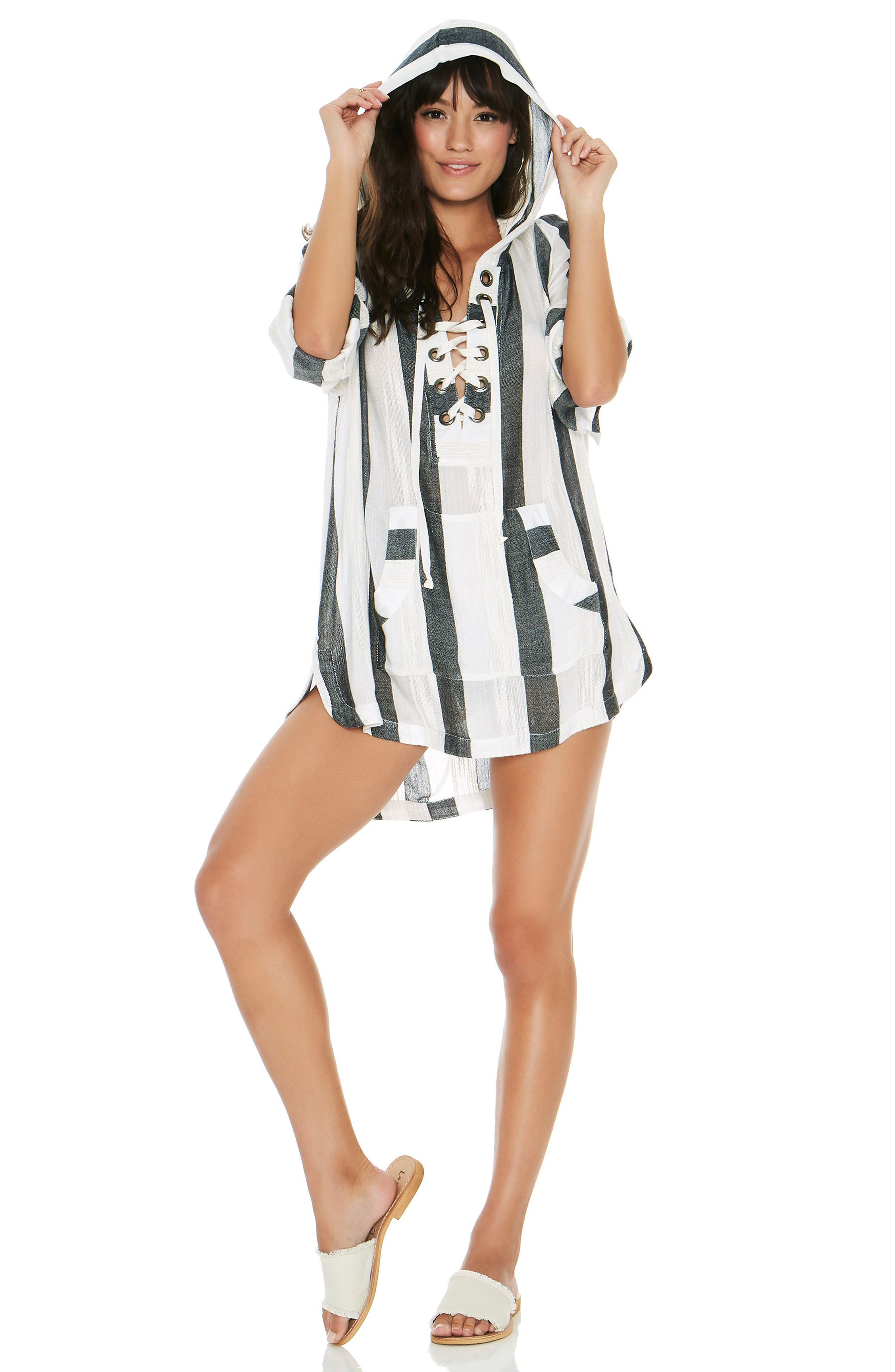Love Letters Cover-Up Tunic,                             Alternate thumbnail 4, color,                             025