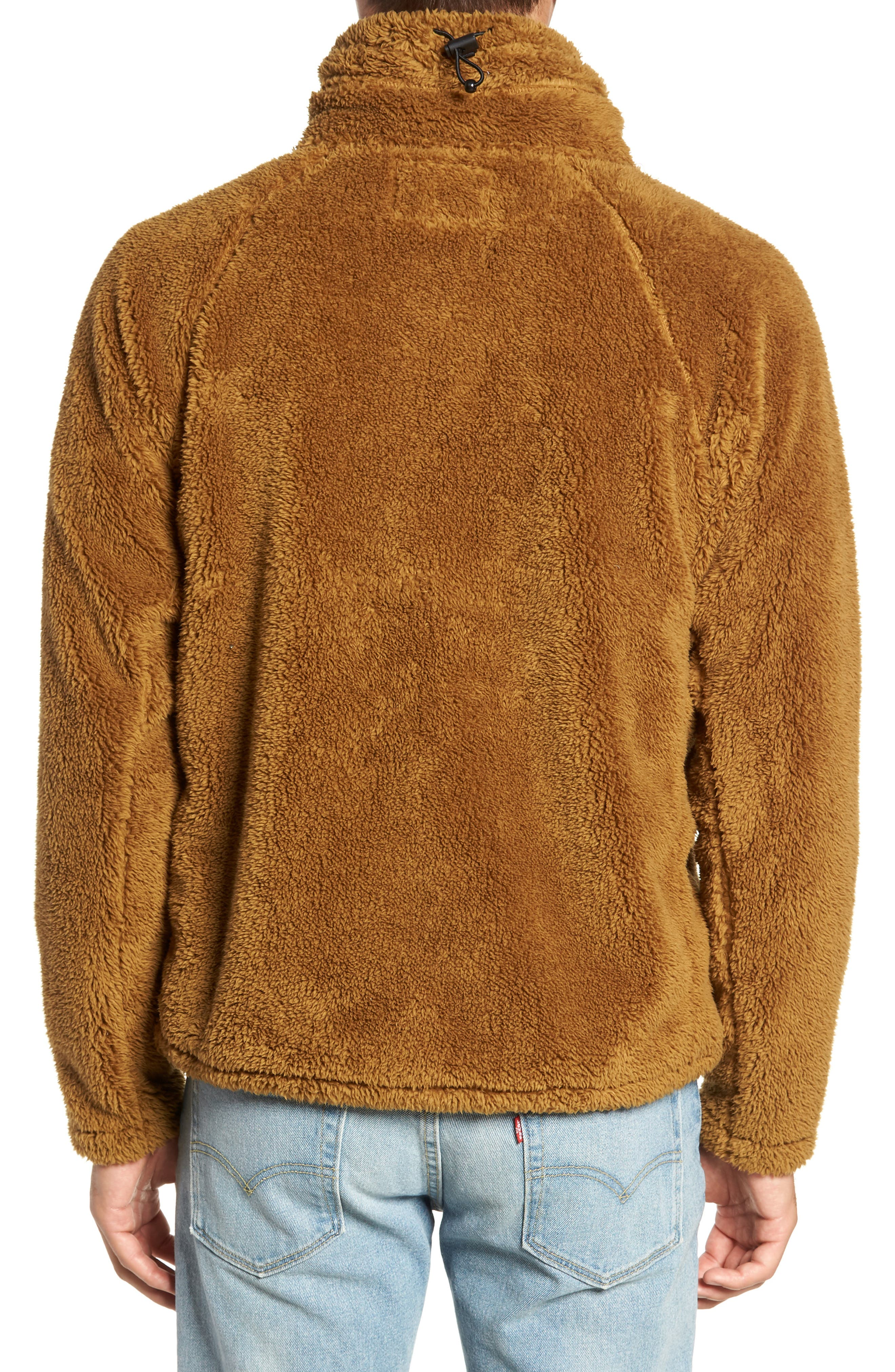 Breakheart Zip Fleece Jacket,                             Alternate thumbnail 2, color,                             BREEN