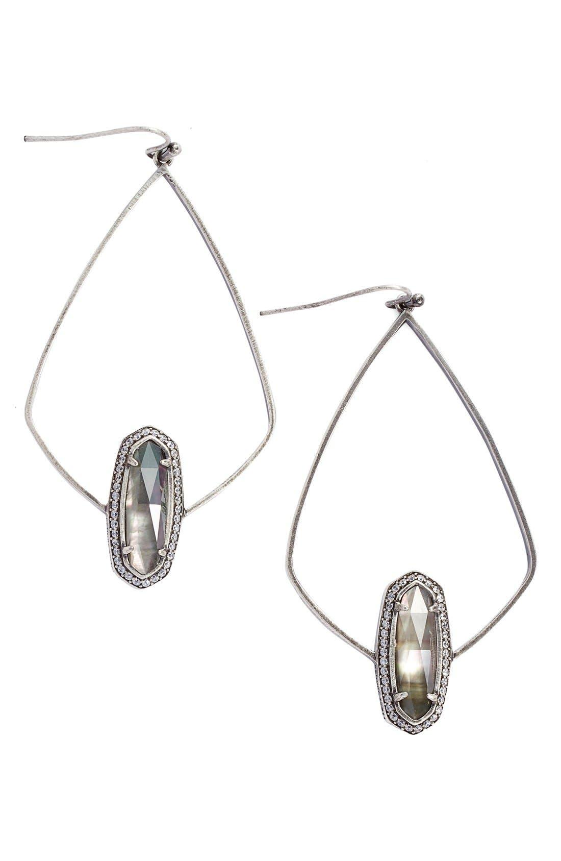 'Arianna' Drop Earrings,                         Main,                         color, 001