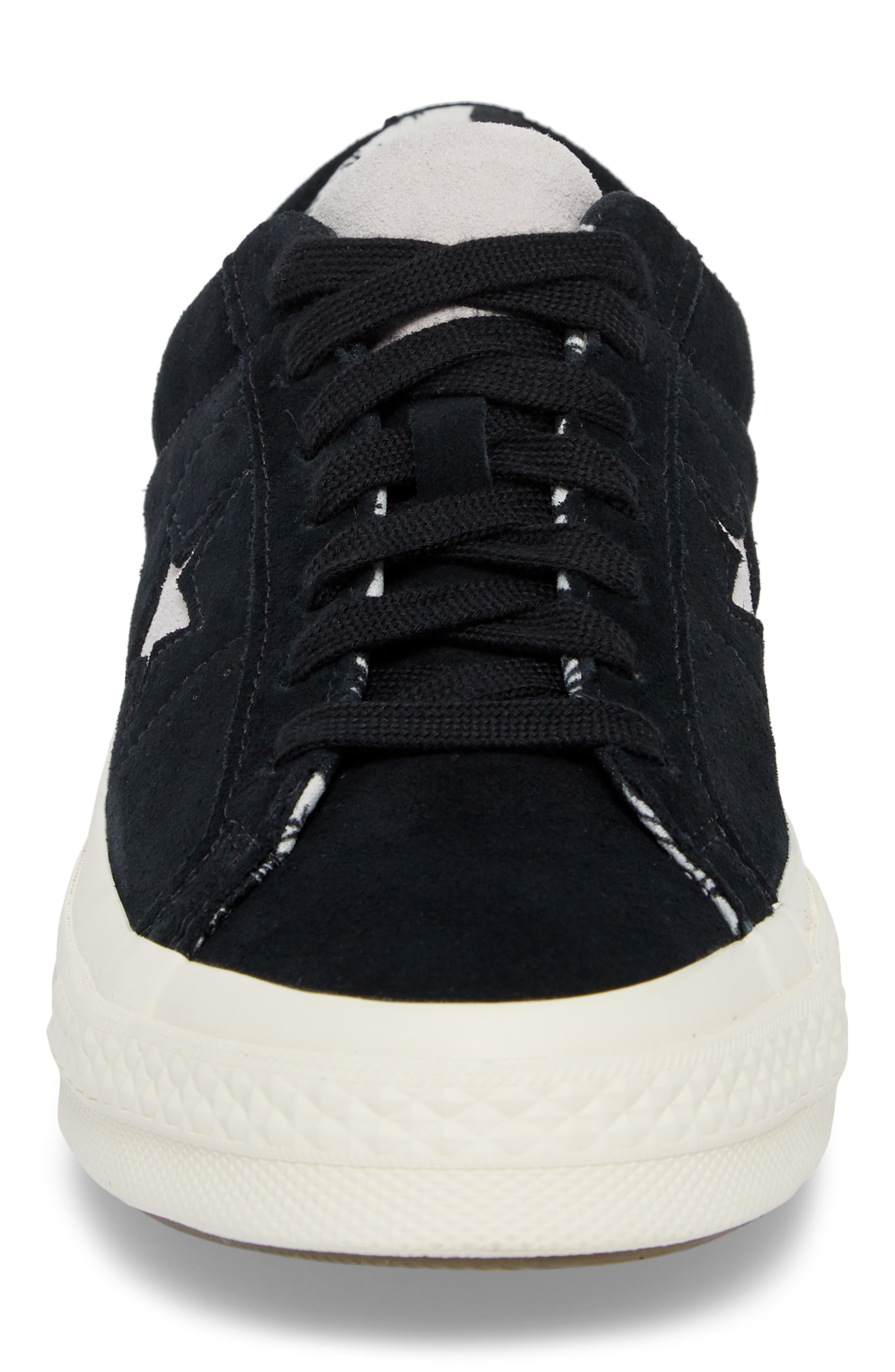 One-Star Tropical Sneaker,                             Alternate thumbnail 4, color,                             001
