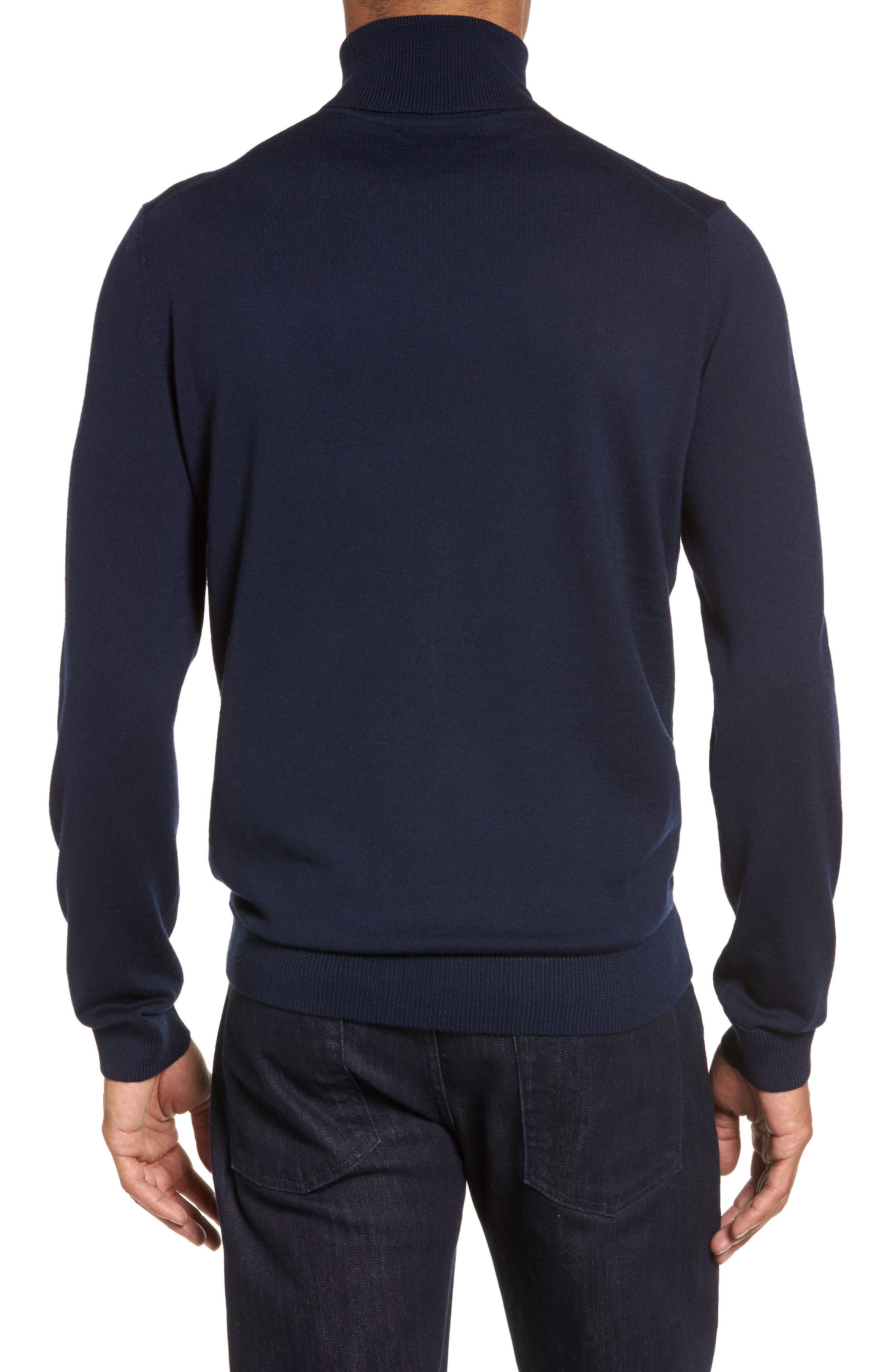 Merino Wool Turtleneck Sweater,                             Alternate thumbnail 11, color,