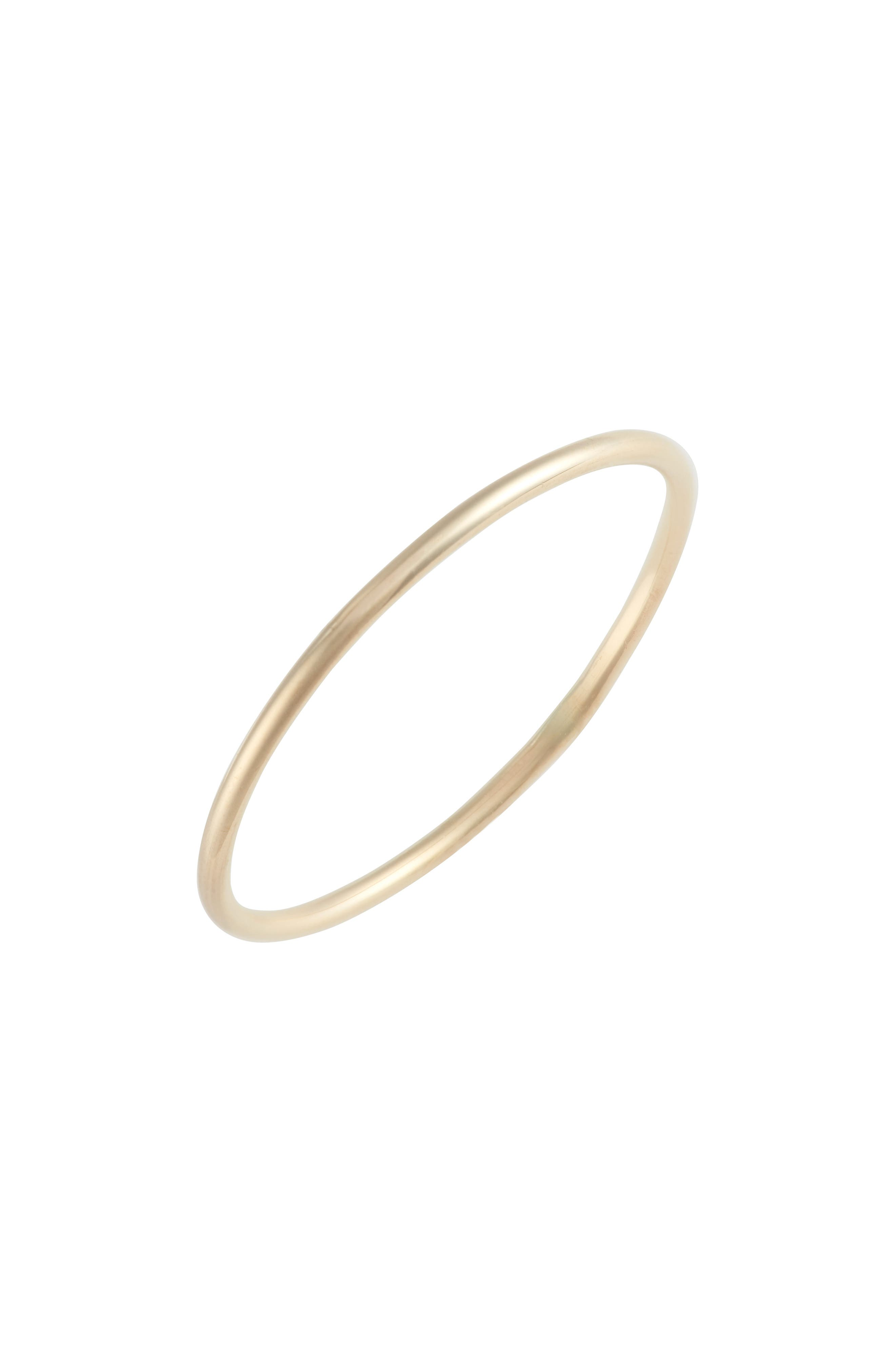 Skinny Gold Ring,                             Main thumbnail 1, color,                             710