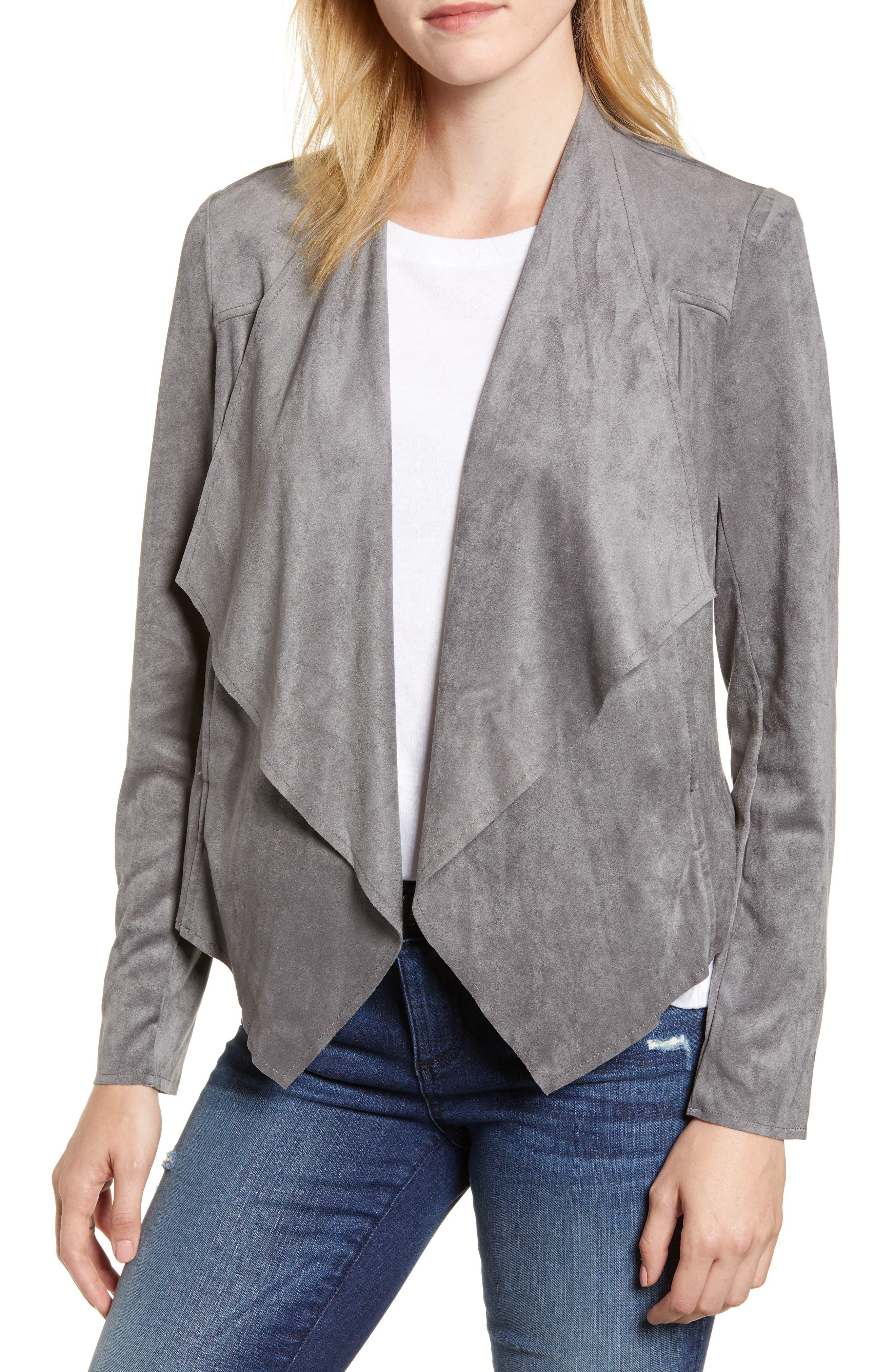 Tayanita Faux Suede Jacket,                         Main,                         color,