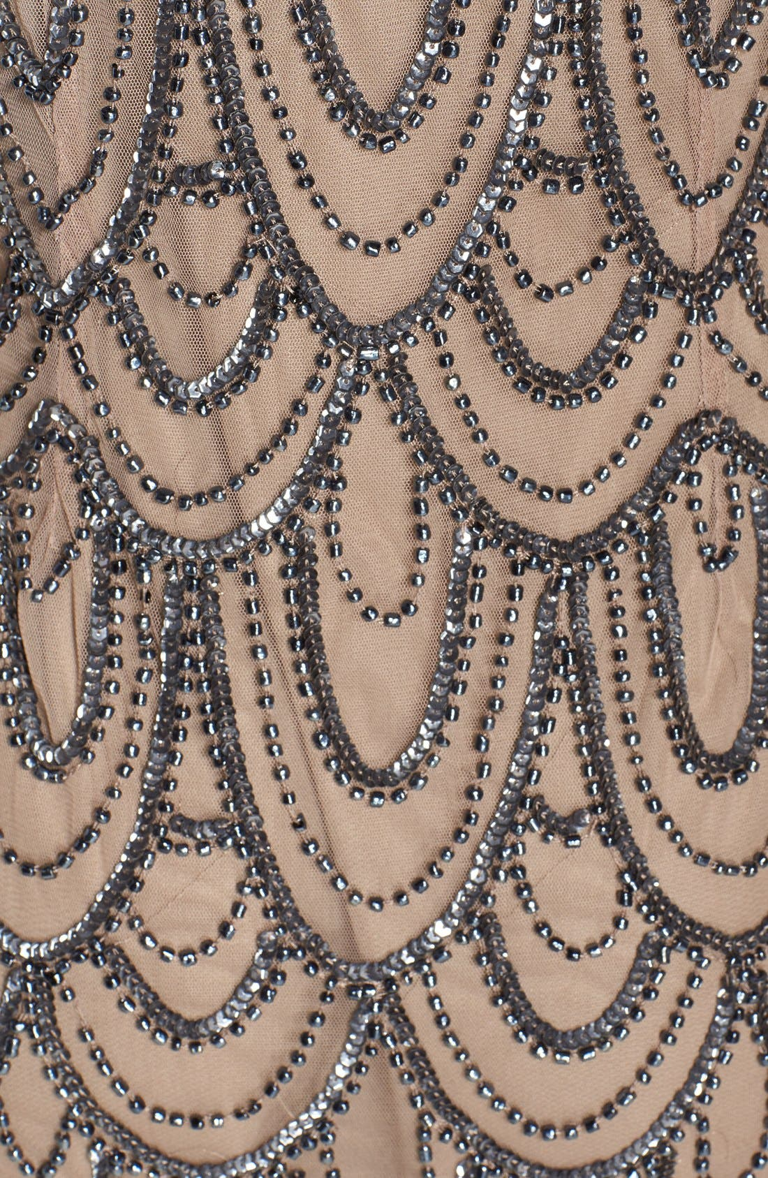 Embellished Mesh Sheath Dress,                             Alternate thumbnail 74, color,