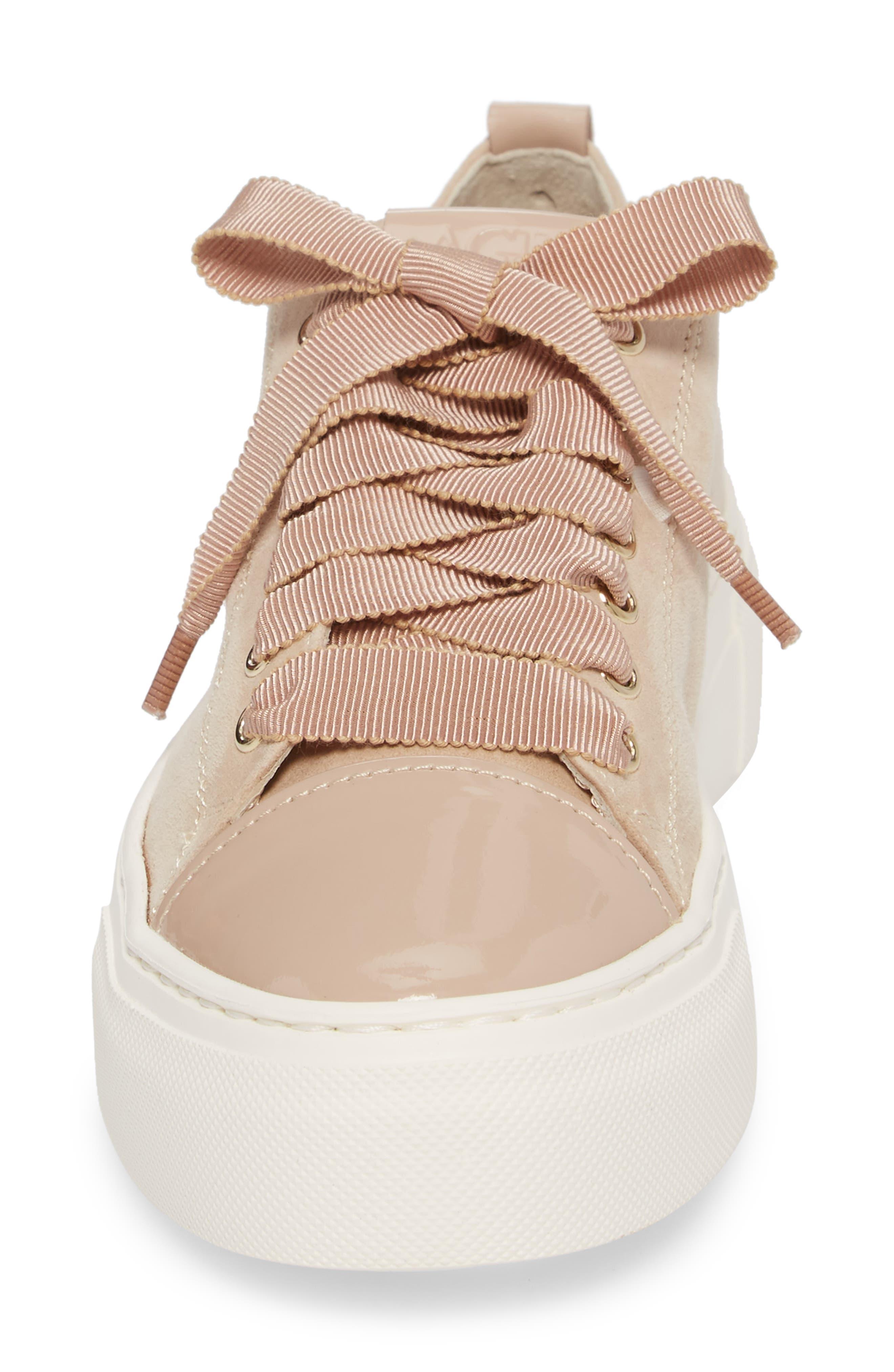 Cap Toe Platform Sneaker,                             Alternate thumbnail 11, color,