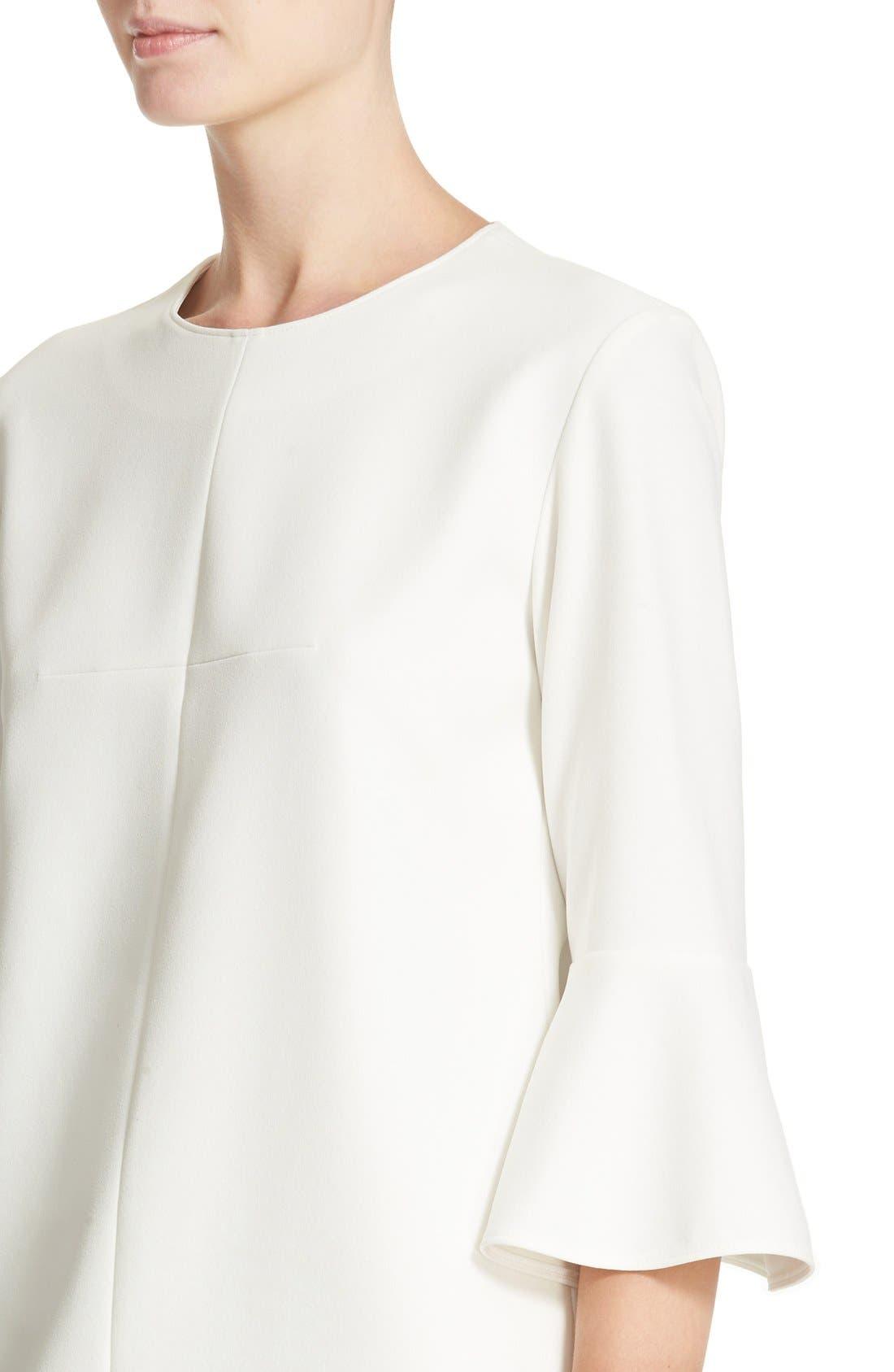 Bell Sleeve Dress,                             Alternate thumbnail 3, color,                             104