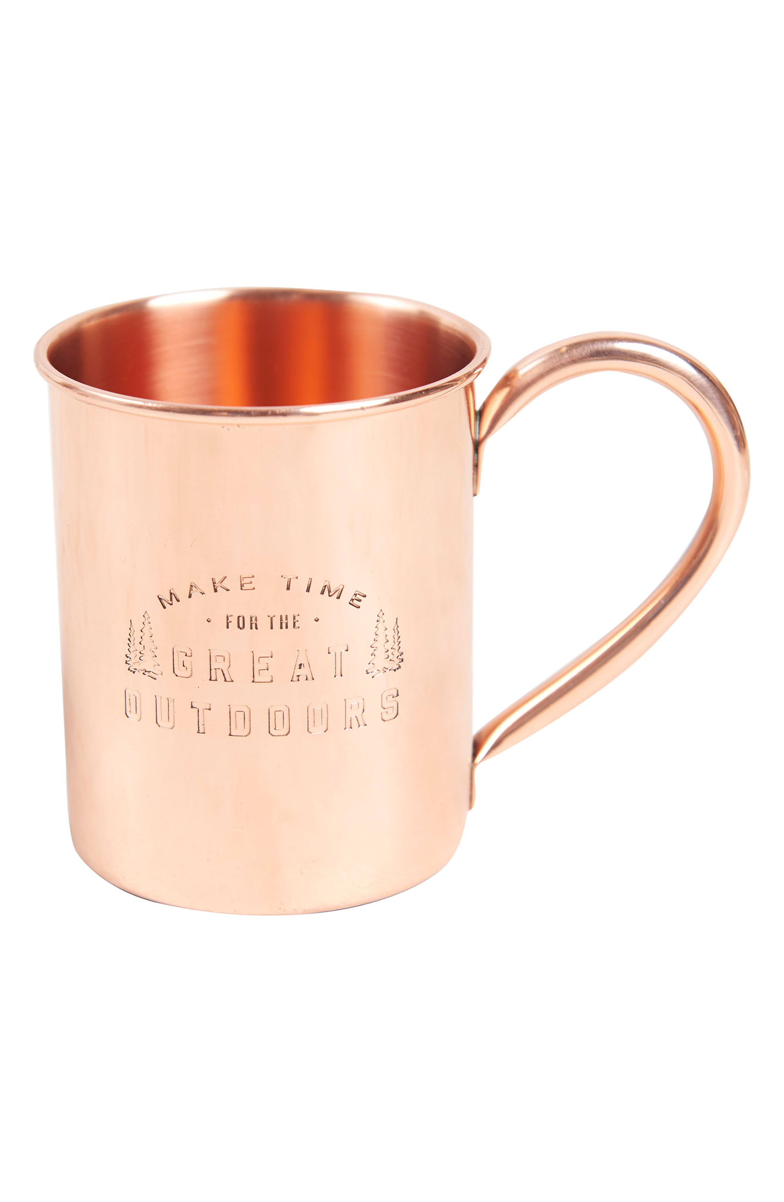 UNITED BY BLUE,                             Engraved Copper Mug,                             Main thumbnail 1, color,                             220
