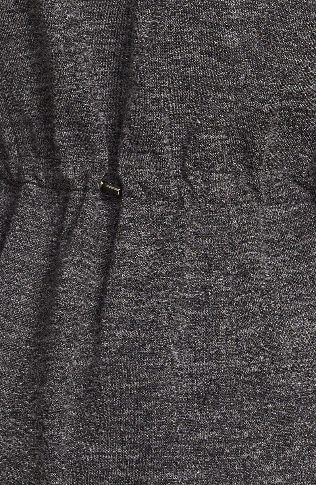 STEVE MADDEN,                             Sweater Knit Anorak,                             Alternate thumbnail 2, color,                             020