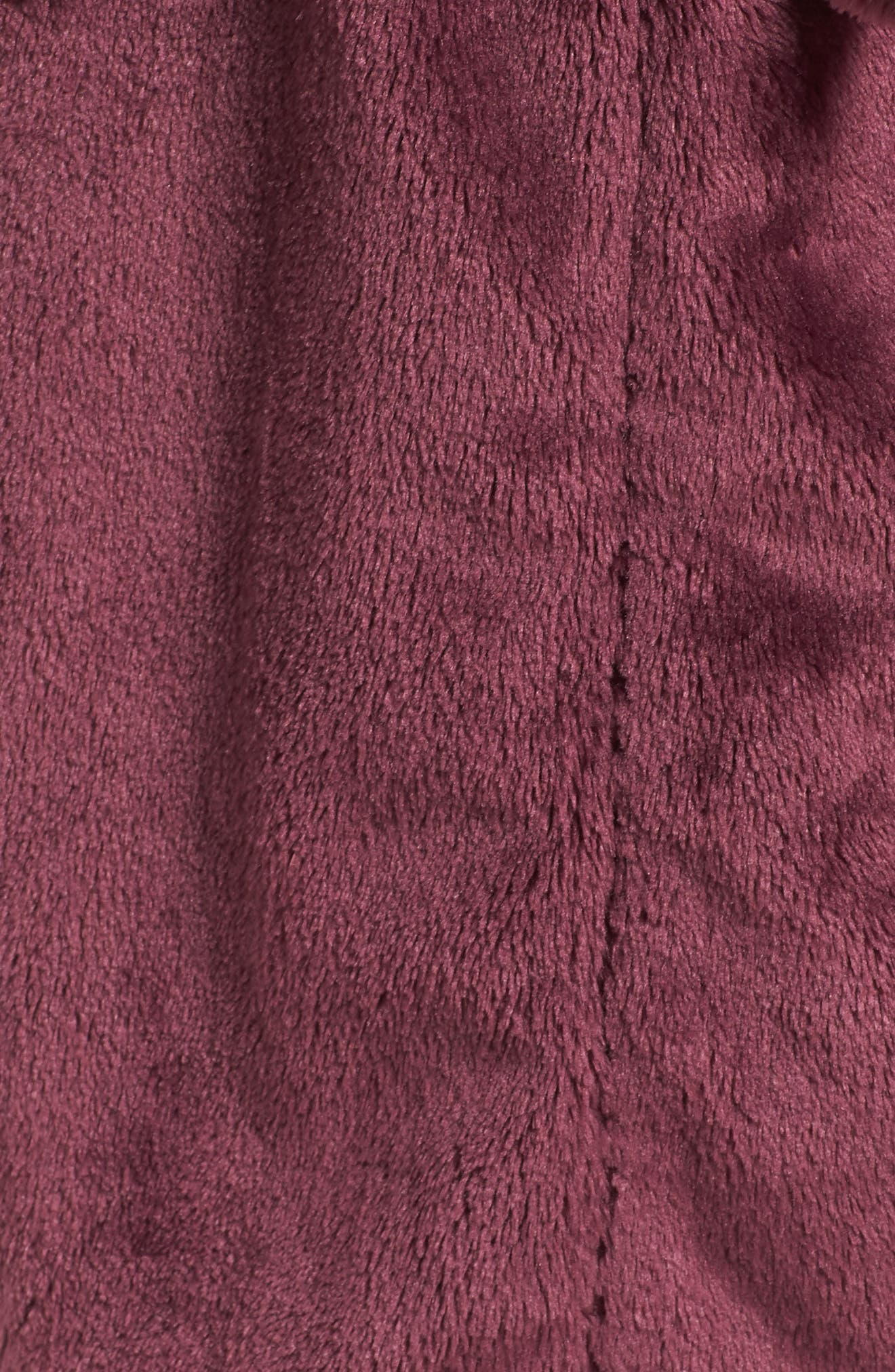 Nordstrom So Soft Plush Robe,                             Alternate thumbnail 5, color,                             PURPLE CRUSH
