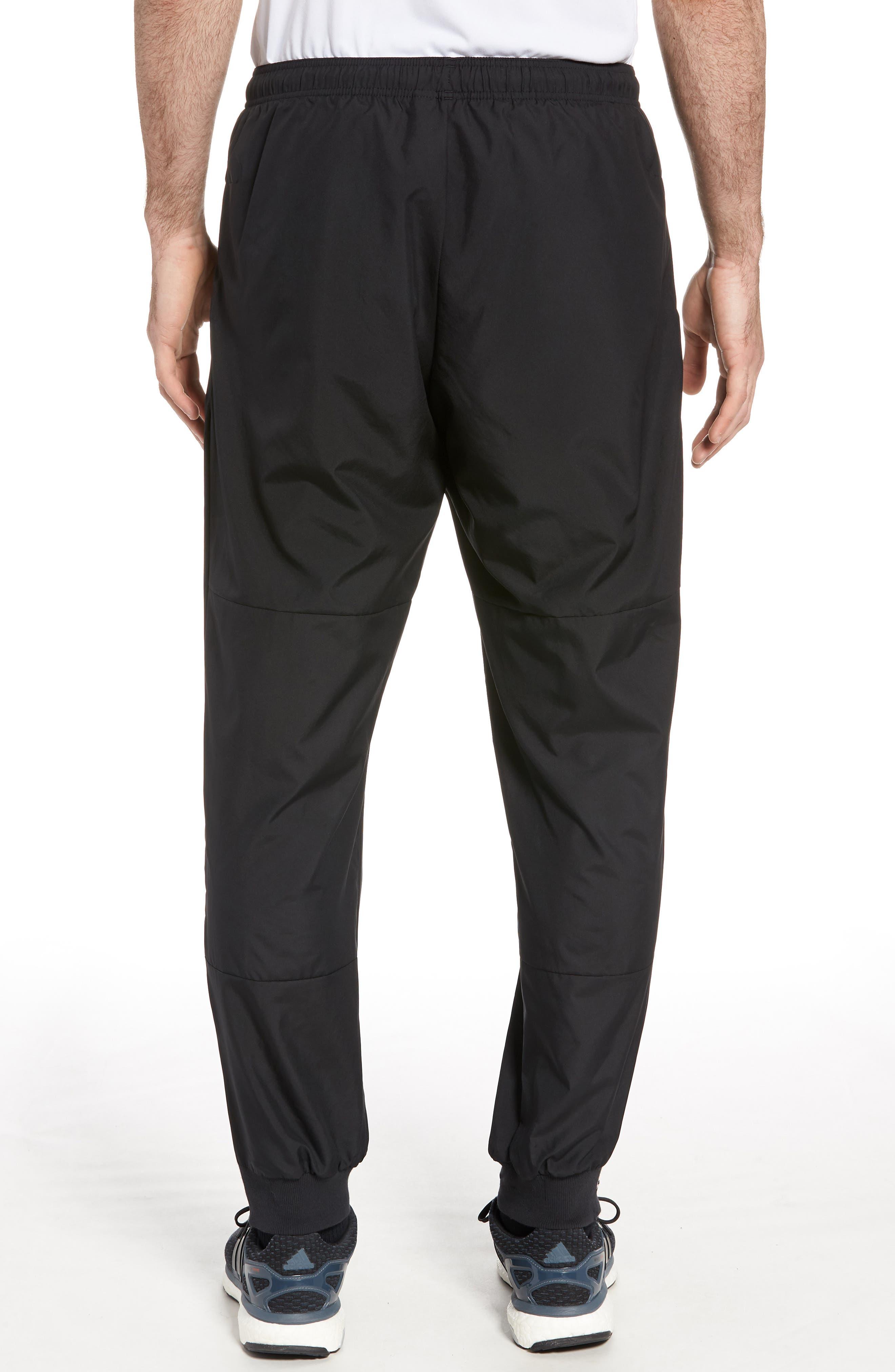 Slim Fit Sweatpants,                             Alternate thumbnail 2, color,                             BLACK
