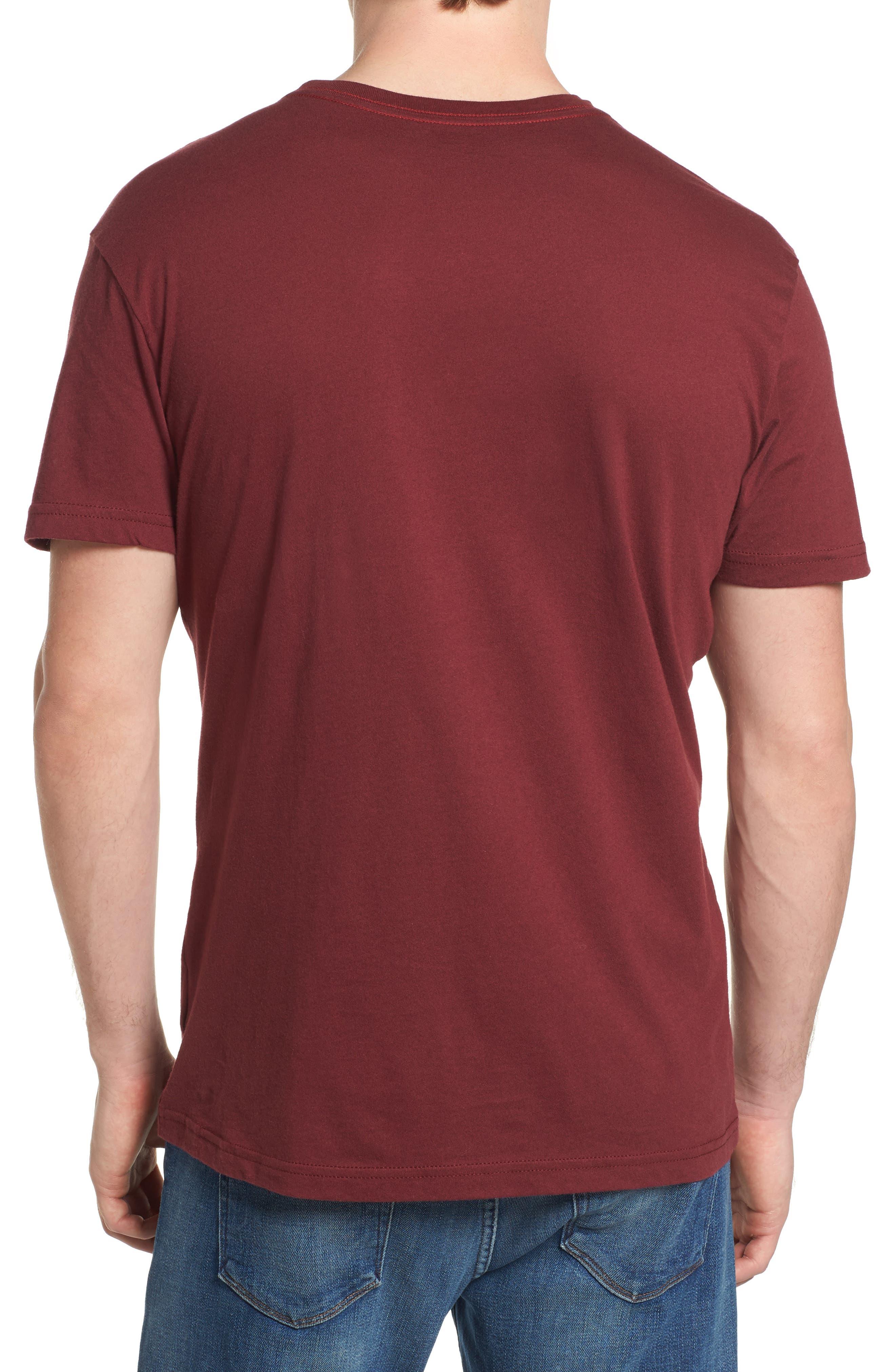 Big RVCA Gradient Logo T-Shirt,                             Alternate thumbnail 4, color,