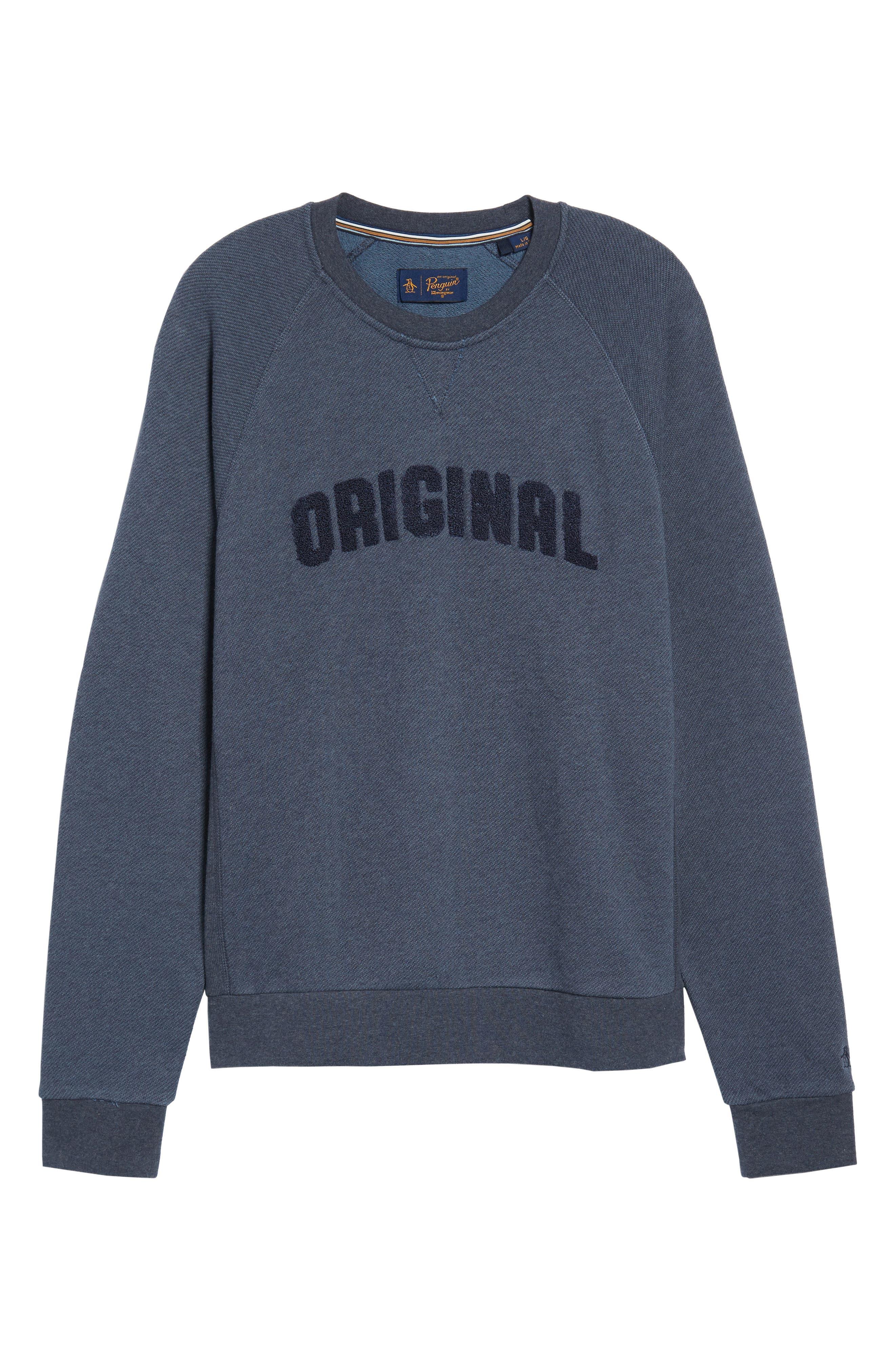 Bouclé Sweatshirt,                             Alternate thumbnail 6, color,                             413