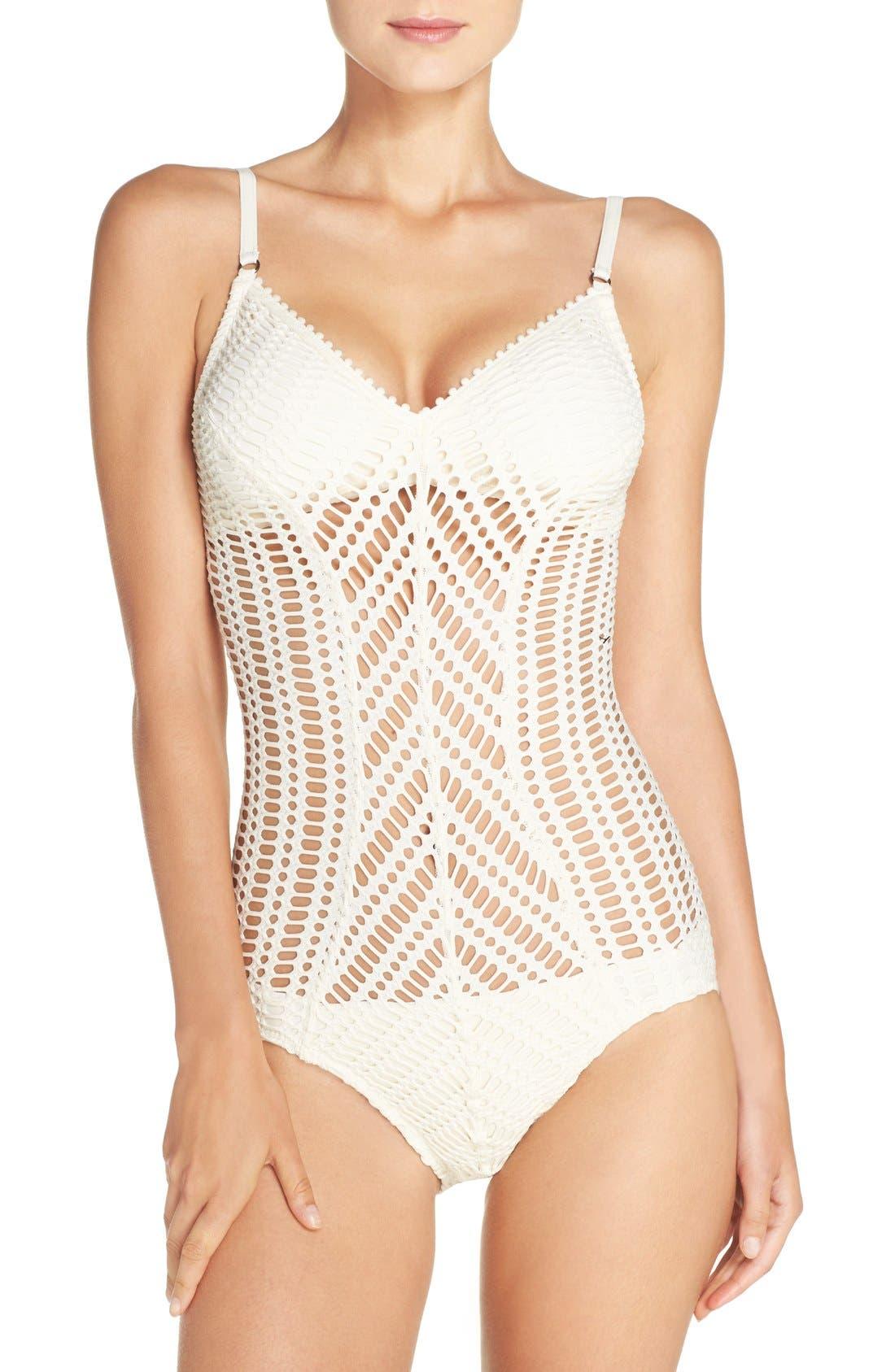 Sophia One-Piece Swimsuit,                         Main,                         color, 900