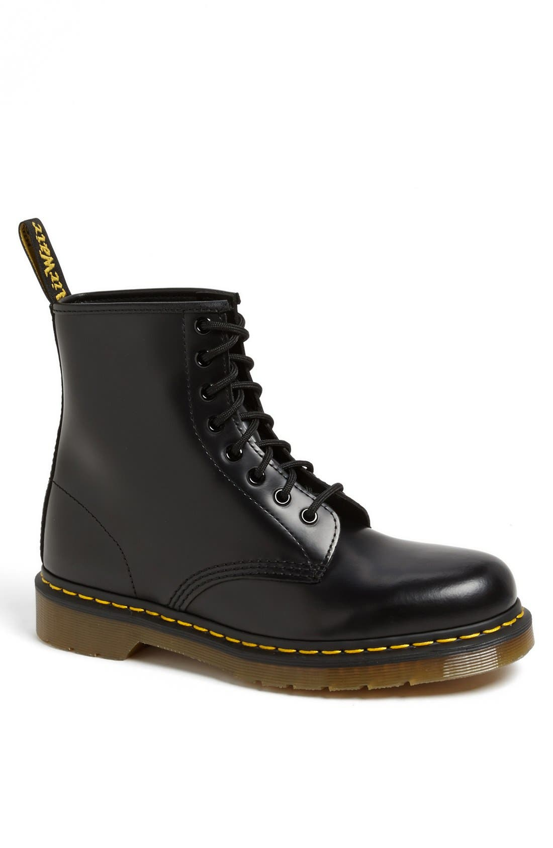 '1460' Boot,                             Main thumbnail 1, color,                             BLACK SMOOTH