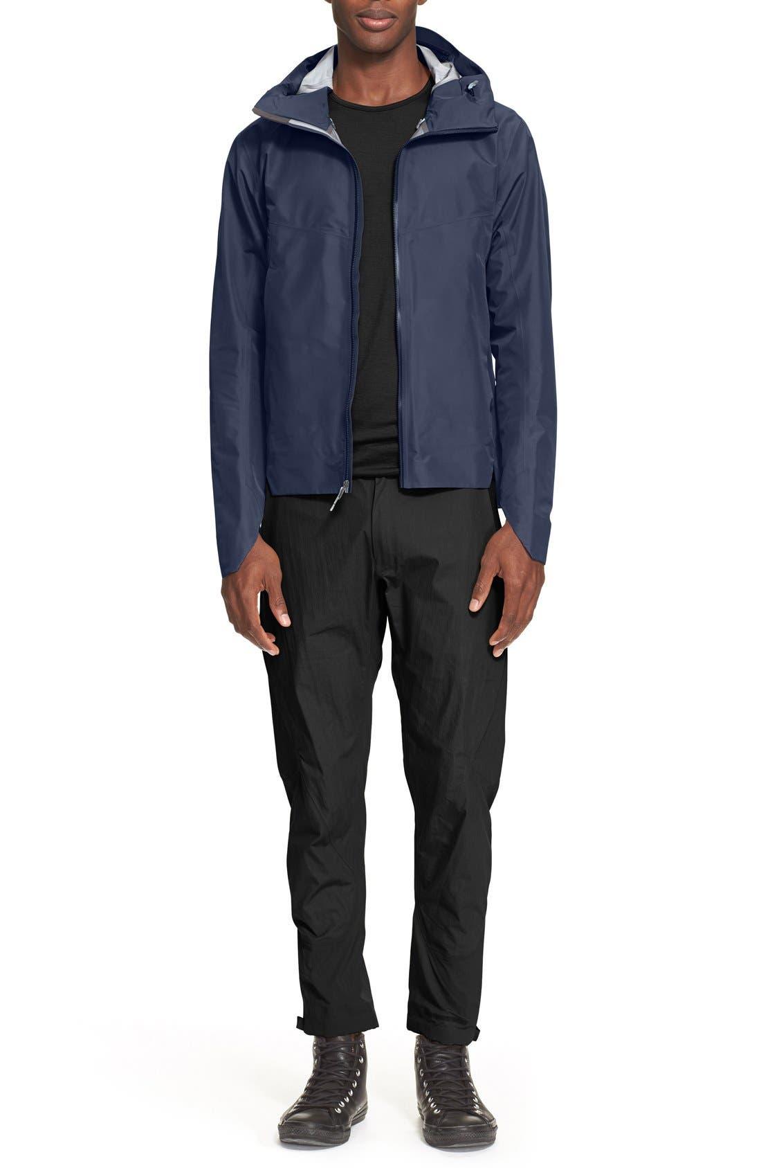 ARC'TERYX VEILANCE,                             'Frame' Merino Wool T-Shirt,                             Alternate thumbnail 6, color,                             001