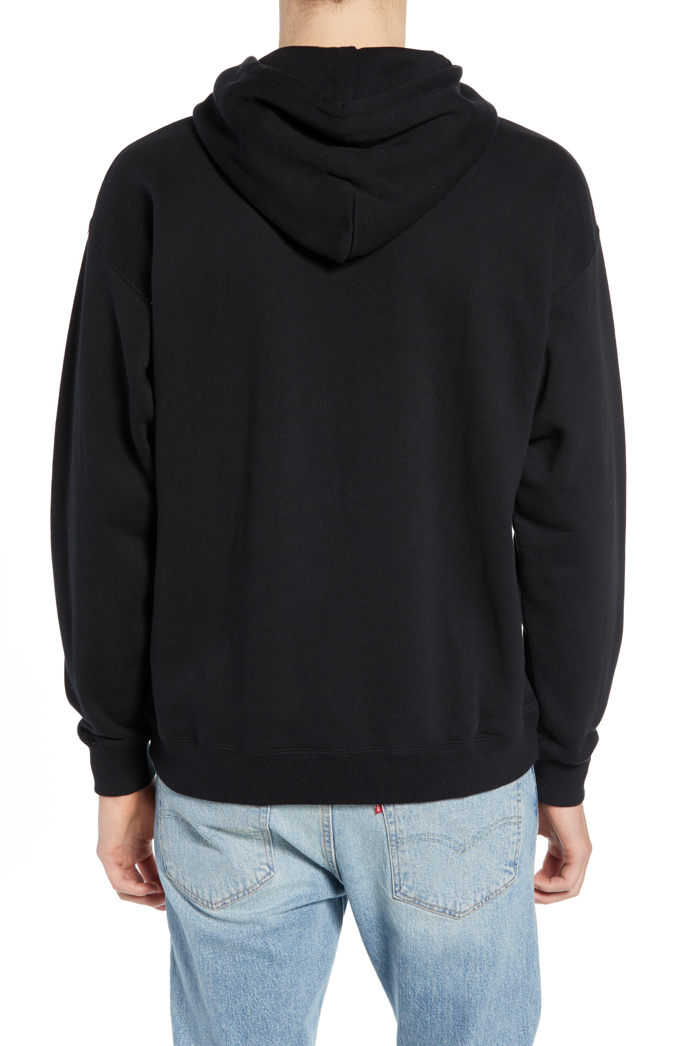 B-Shield Hooded Sweatshirt,                             Alternate thumbnail 2, color,                             001