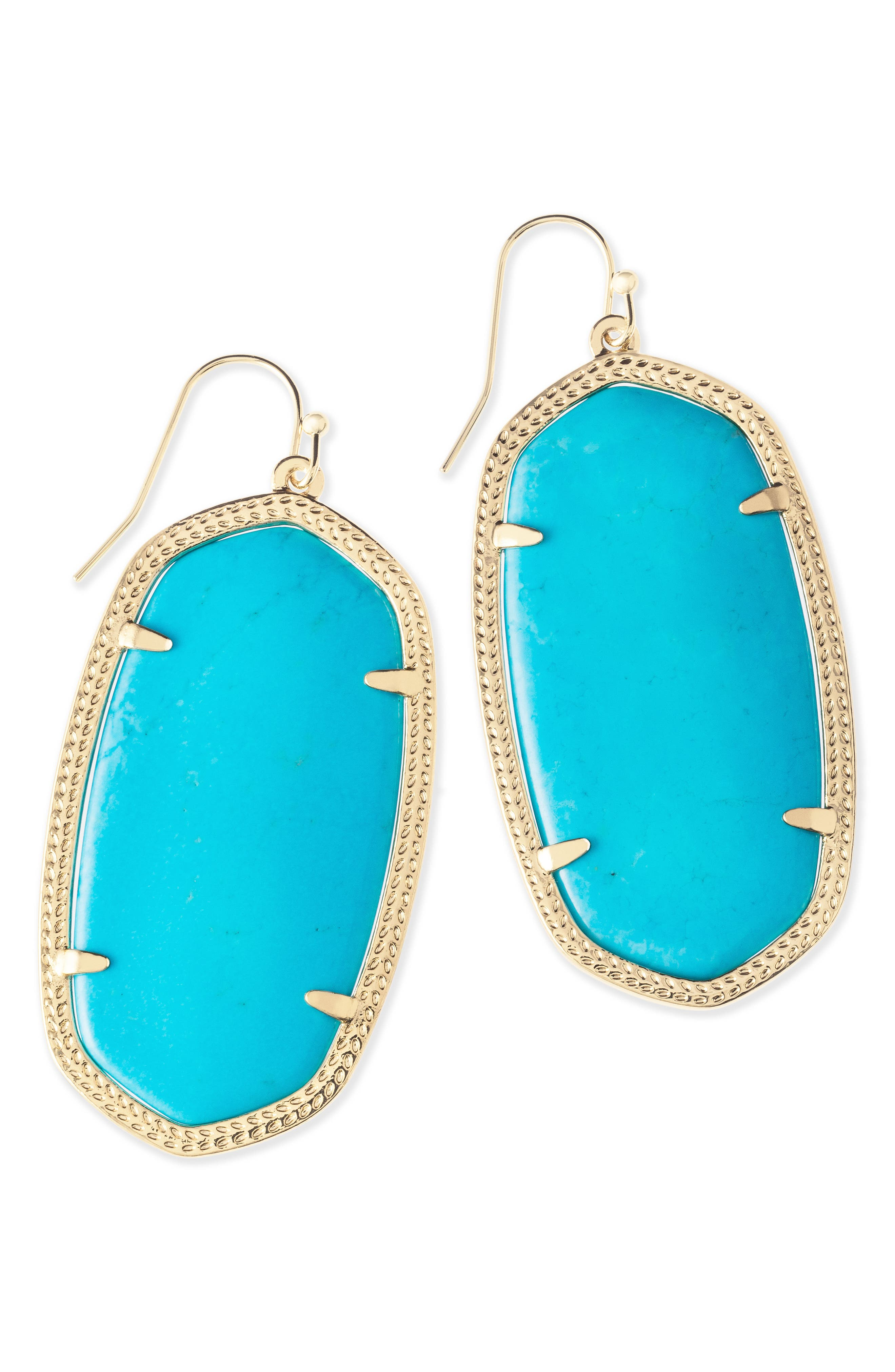 Danielle - Large Oval Statement Earrings,                             Alternate thumbnail 106, color,