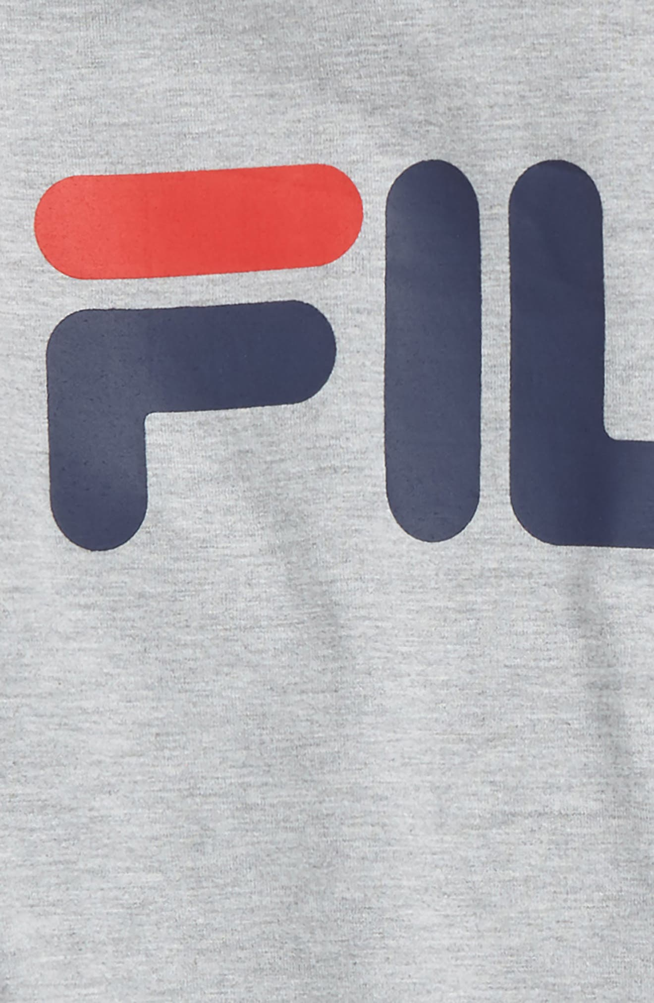 Long Sleeve Hooded Logo T-Shirt,                             Alternate thumbnail 2, color,                             050