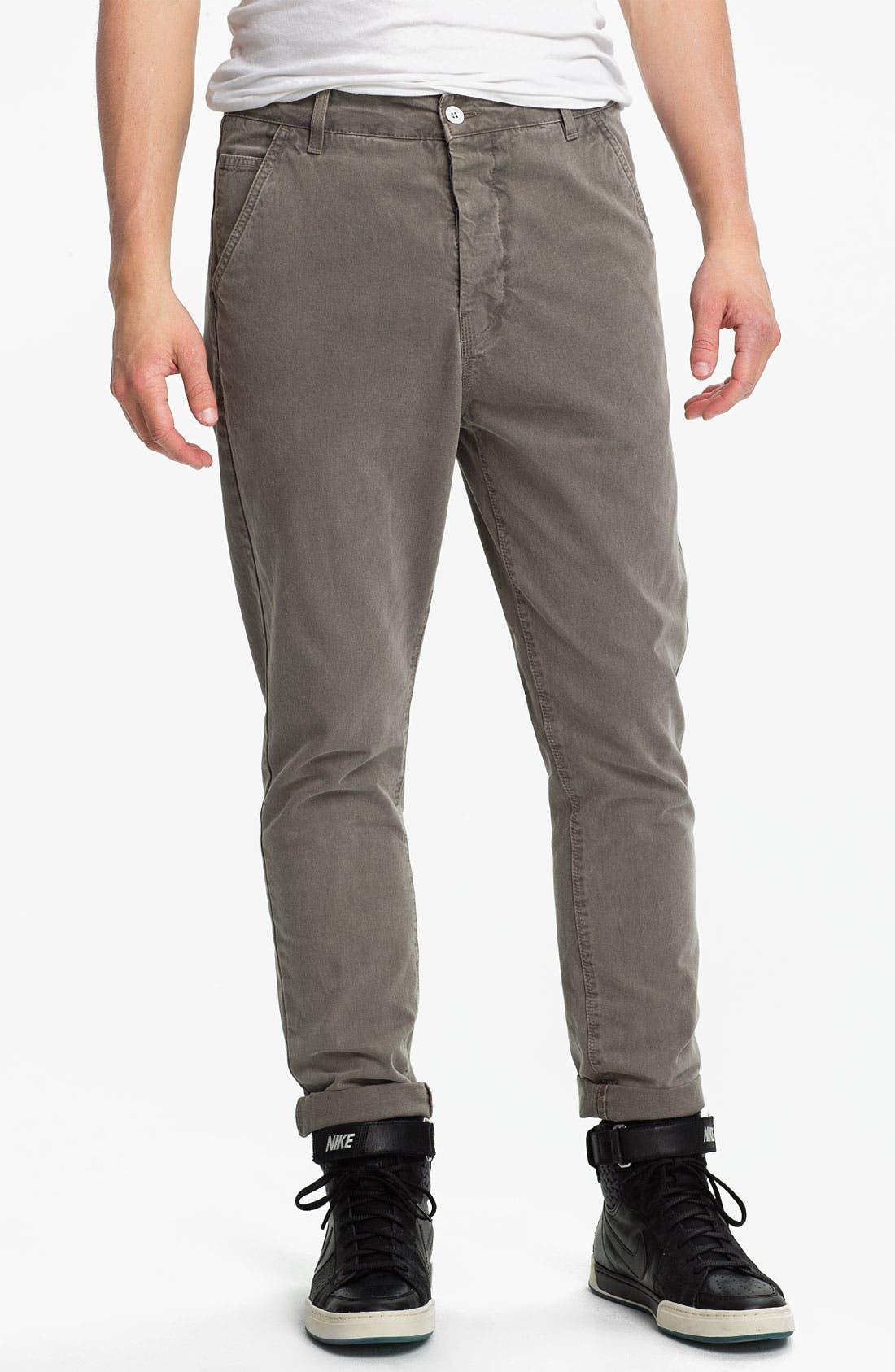 Skinny Carrot Fit Pants, Main, color, 030
