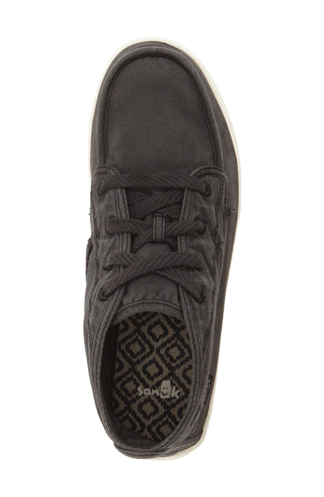 'Vee K Shawn' High Top Sneaker,                             Alternate thumbnail 4, color,                             006