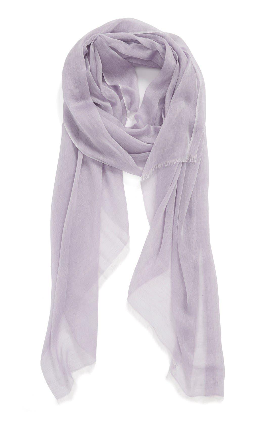 Modal Silk Blend Scarf,                             Alternate thumbnail 96, color,