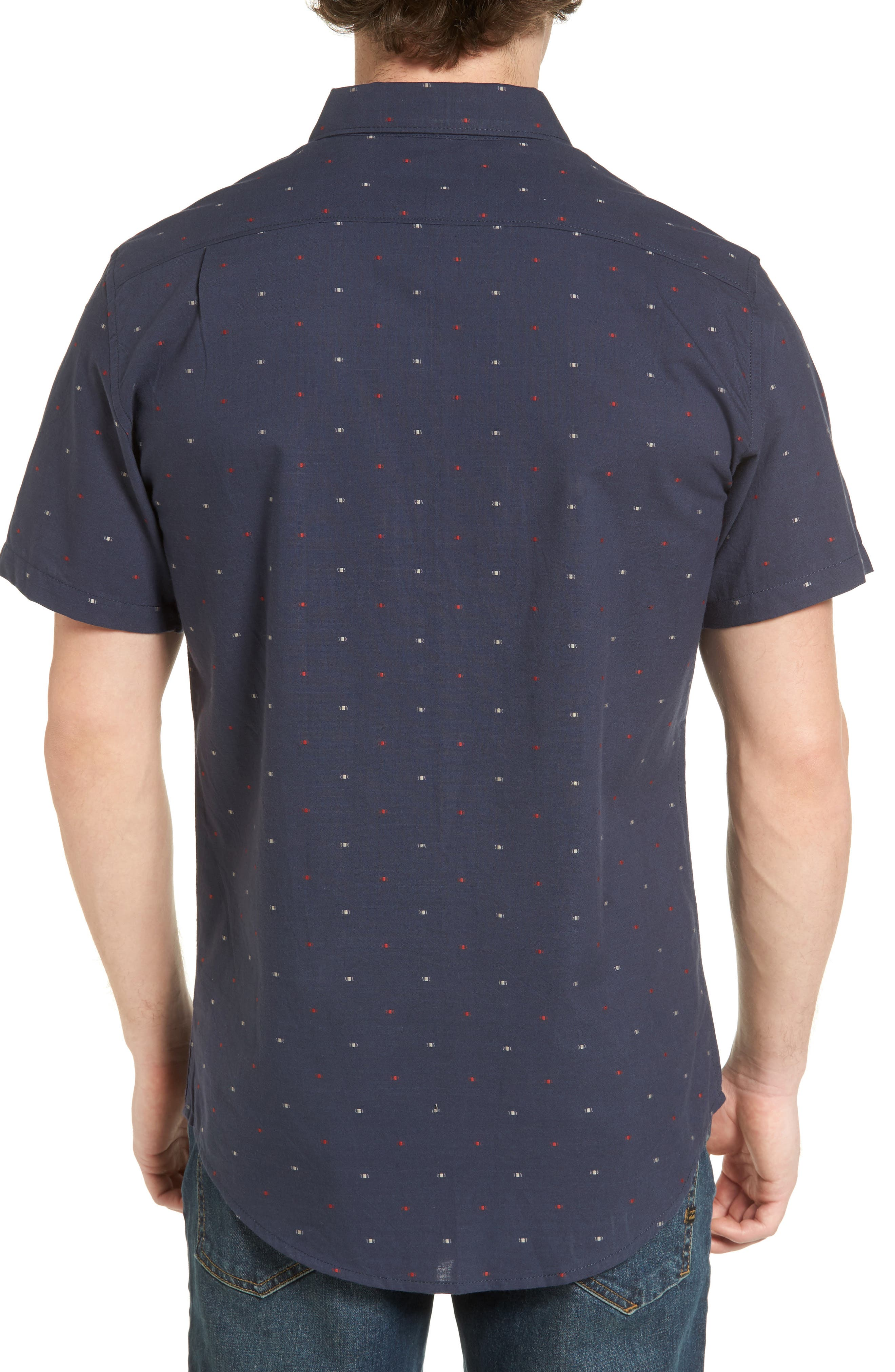 Cruisin Dobby Woven Shirt,                             Alternate thumbnail 4, color,