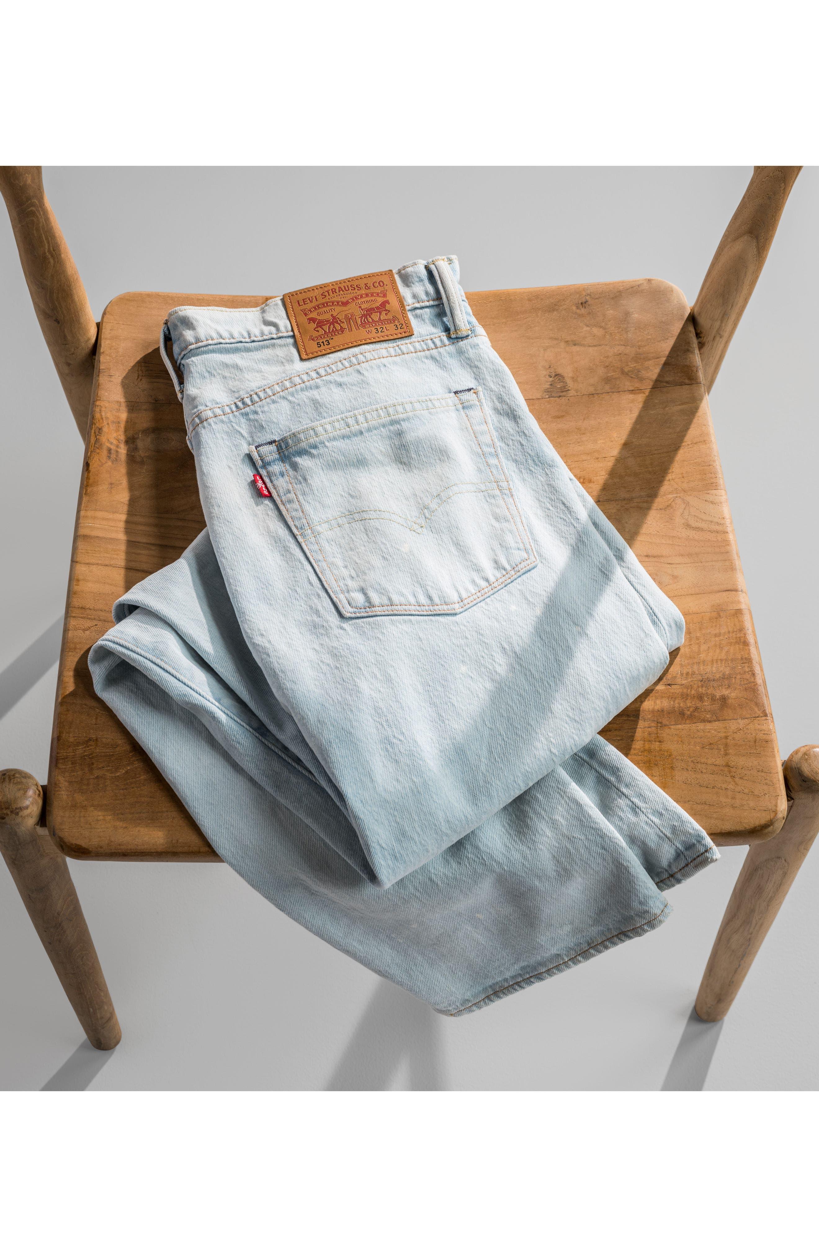 513<sup>™</sup> Slim Straight Leg Jeans,                             Alternate thumbnail 7, color,                             420