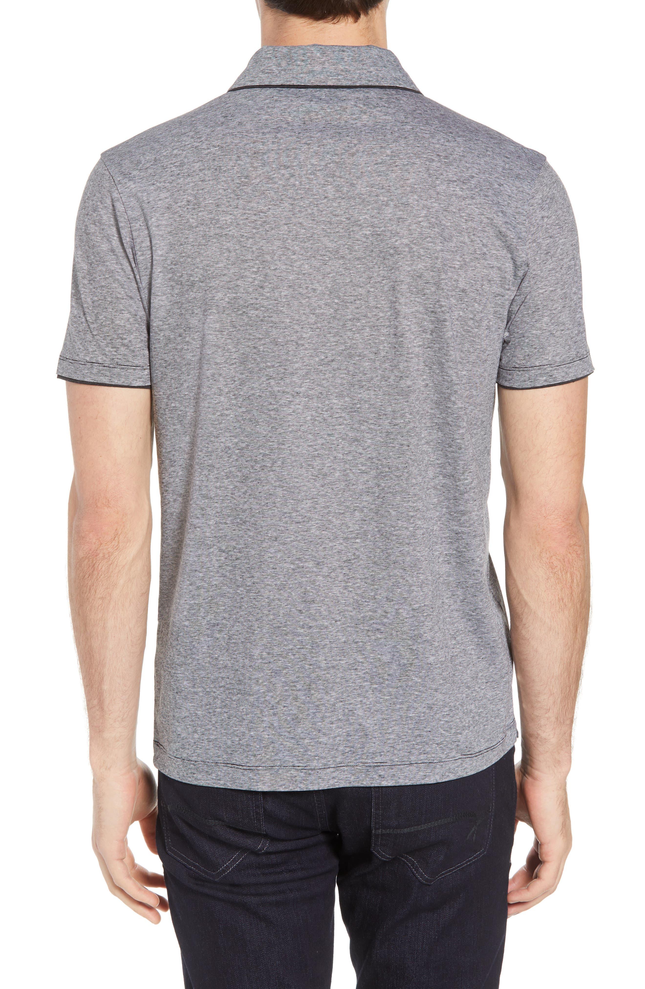 Plato Flame Polo Shirt,                             Alternate thumbnail 2, color,                             001